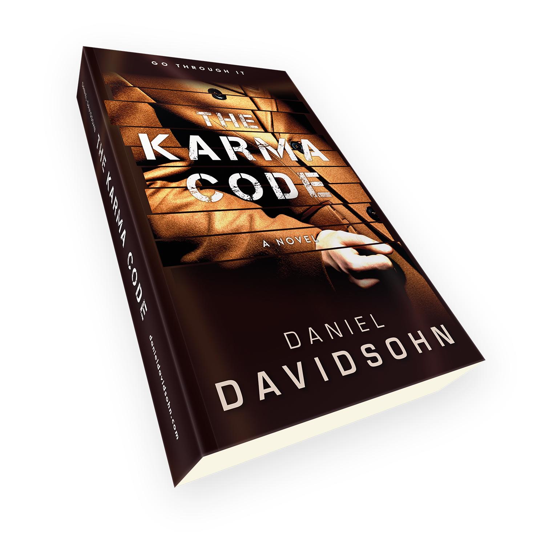The Karma Code - a bespoke book cover design by Mark Thomas