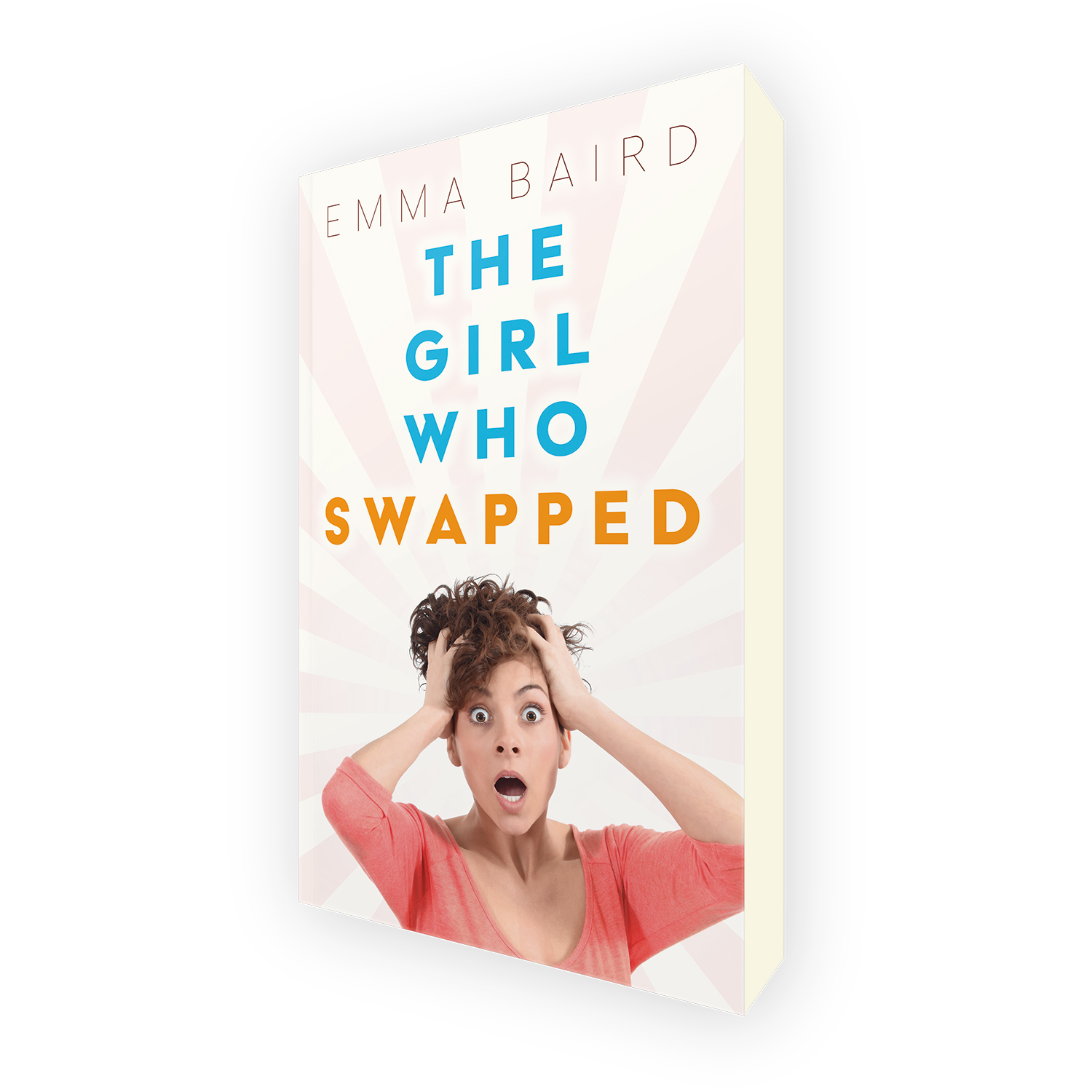 'The Girl Who Swapped' is a great chic-lit, body-swap, time-travel romcom, by author Emma Baird. The book cover & interior were designed by Mark Thomas, of coverness.com. To find out more about my book design services, please visit www.coverness.com.