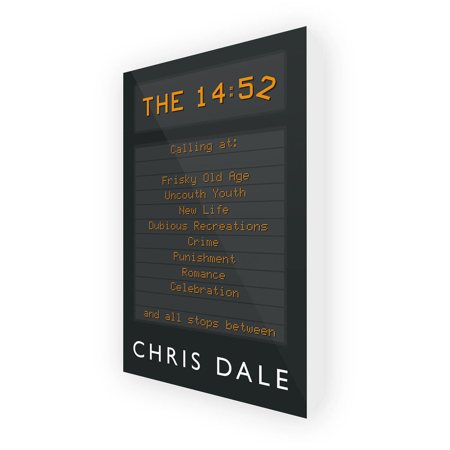 'The 14:52' is a bespoke cover design for dramedy novel, by the author Chris Dale. The book cover was designed by Mark Thomas, of coverness.com. To find out more about my book design services, please visit www.coverness.com.