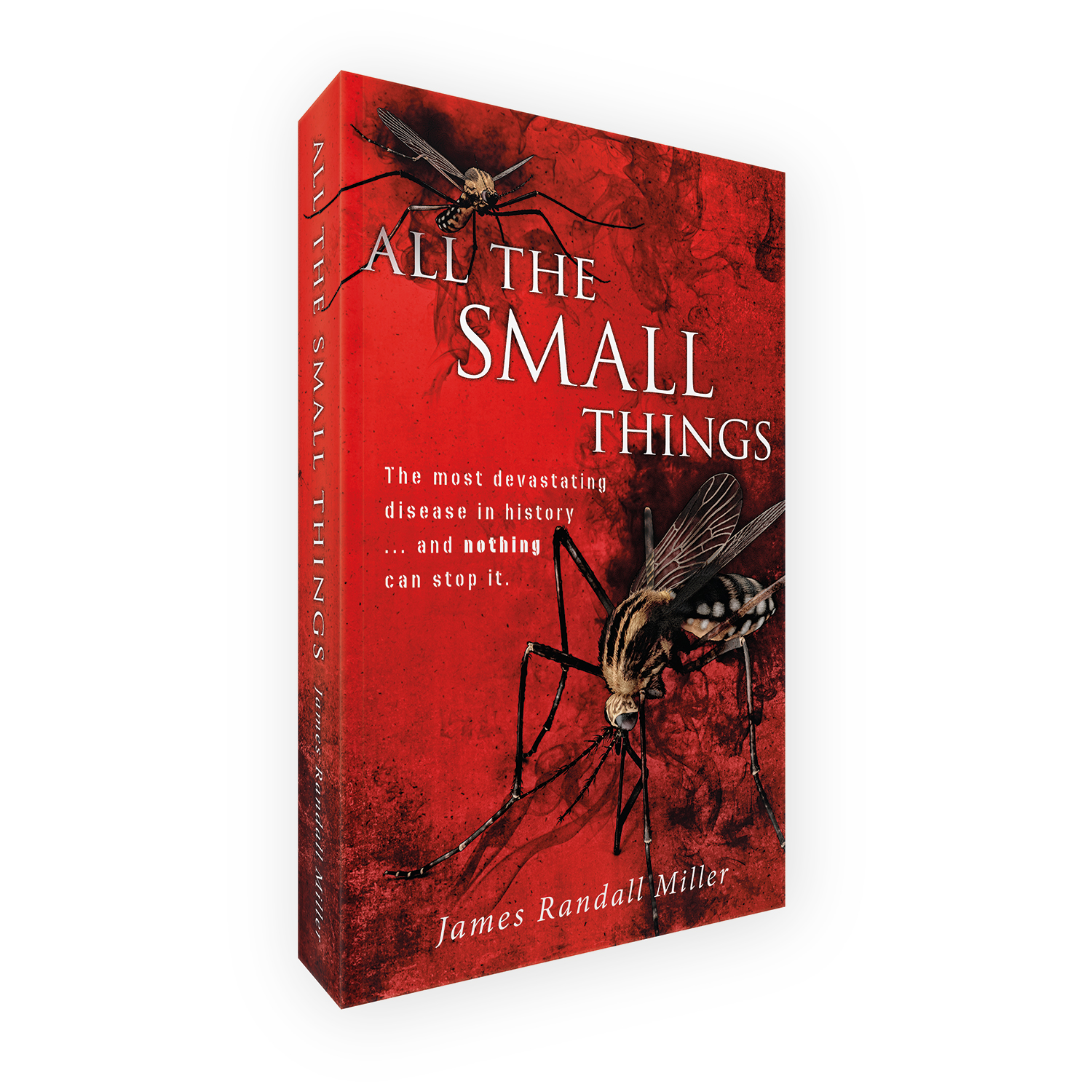 'All The Small Things' is a bespoke cover design for a modern viral thriller novel. The book cover was designed by Mark Thomas, of coverness.com. To find out more about my book design services, please visit www.coverness.com.