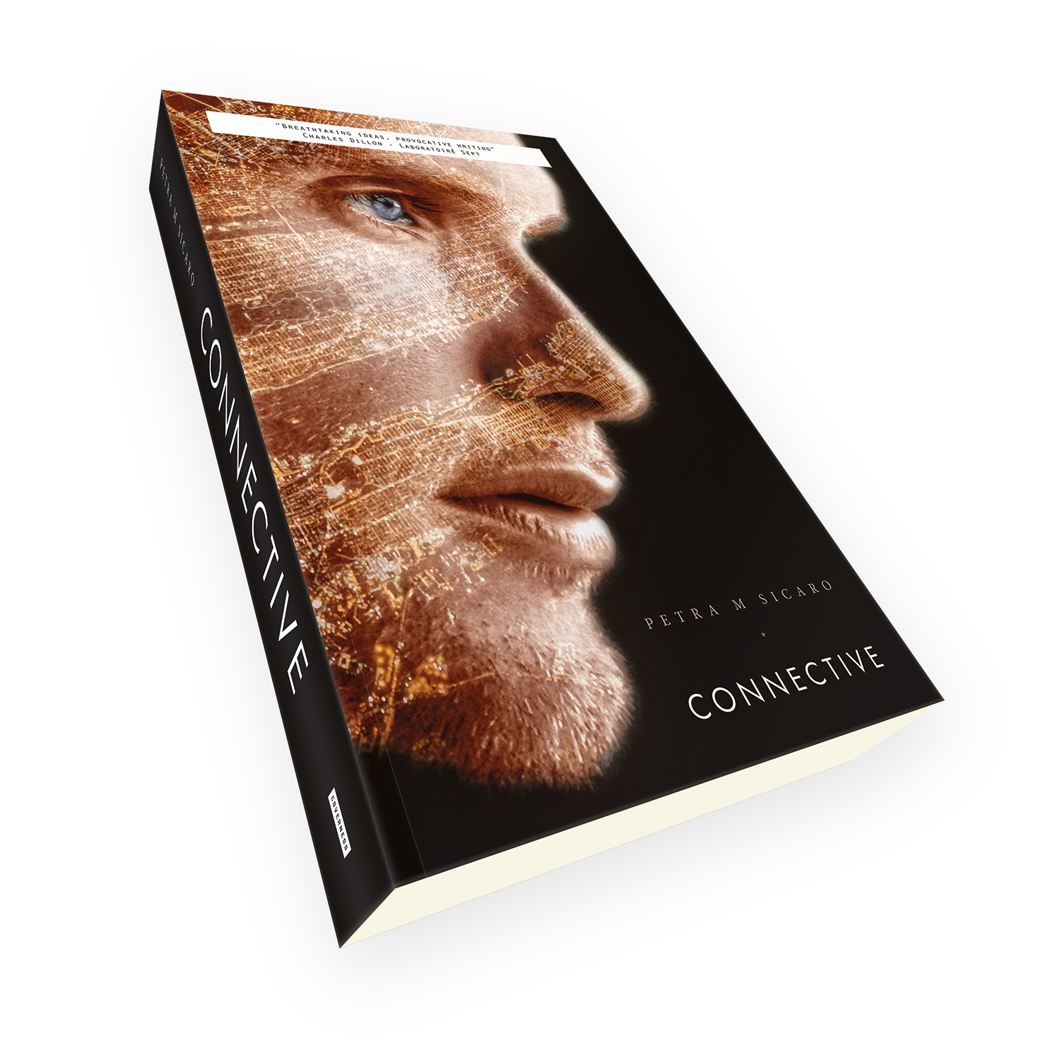 'Connective' is a bespoke cover design for a modern cyber-themed scifi novel. The book cover was designed by Mark Thomas, of coverness.com. To find out more about my book design services, please visit www.coverness.com.