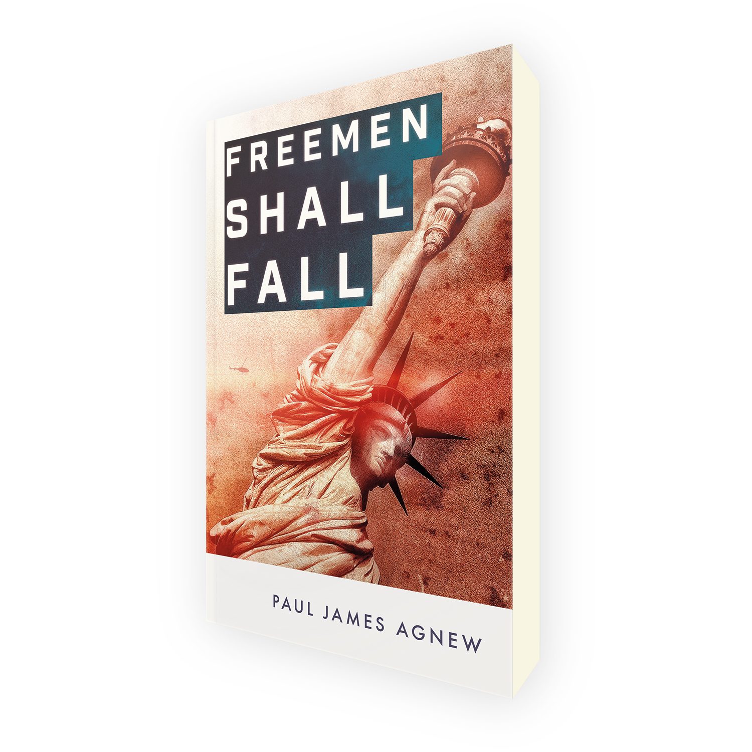 'Freemen Shall Fall' is a bespoke cover design for a topical modern political thriller. The book cover was designed by Mark Thomas, of coverness.com. To find out more about my book design services, please visit www.coverness.com.
