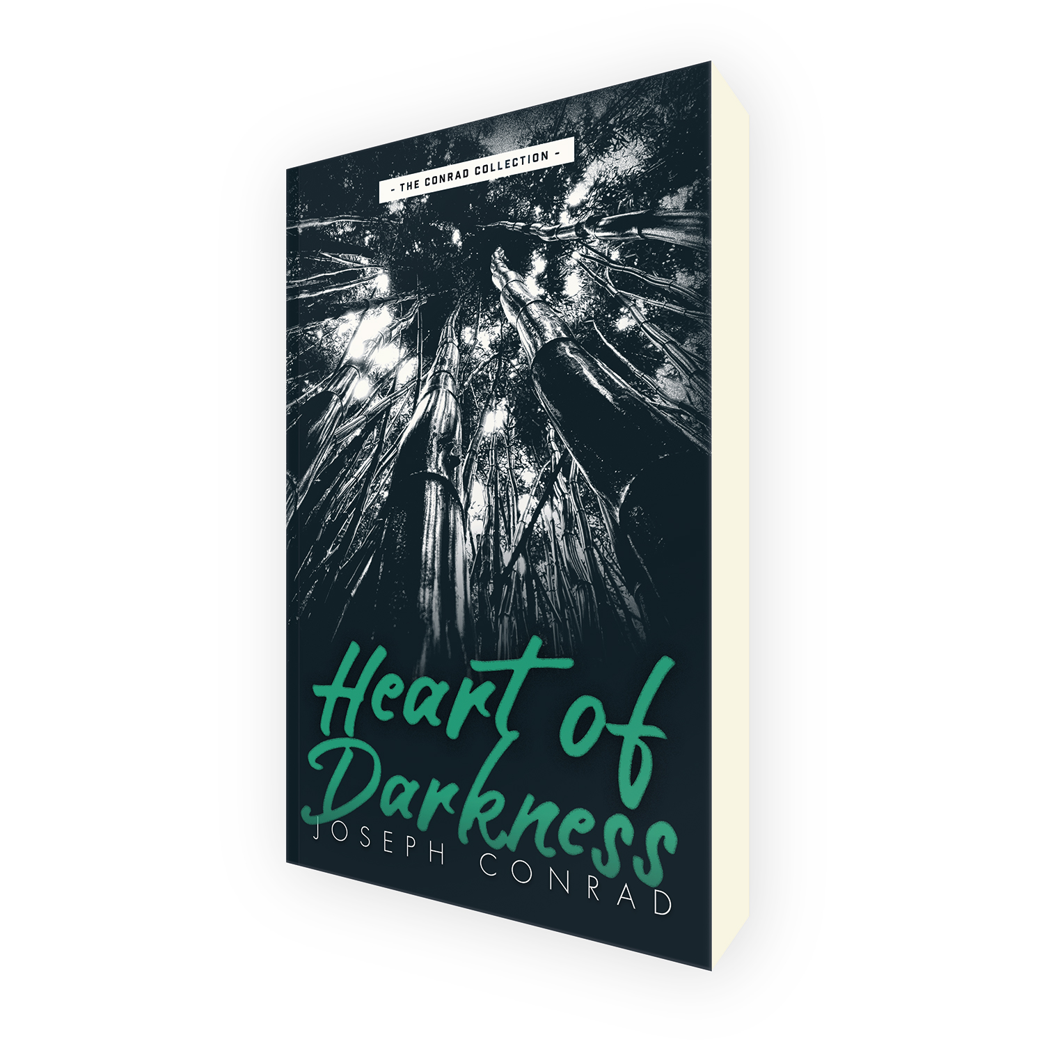 'Heart of Darkness' is a bespoke cover design for the classic novel by Joseph Conrad. The book cover was designed by Mark Thomas, of coverness.com. To find out more about my book design services, please visit www.coverness.com.