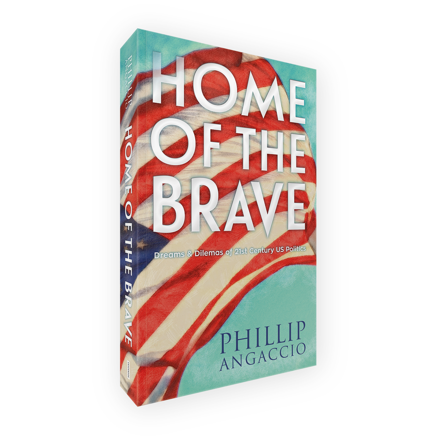 'Home of the Brave' is a bespoke cover design for a modern politically-themed book. The book cover was designed by Mark Thomas, of coverness.com. To find out more about my book design services, please visit www.coverness.com.