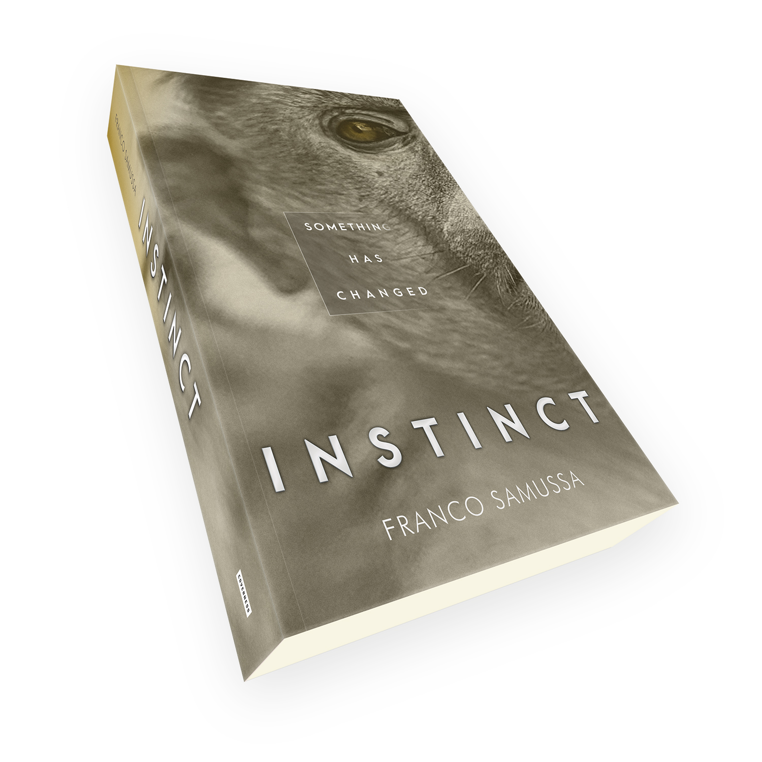 'Instinct' is a bespoke cover design for a modern eco-thriller novel. The book cover was designed by Mark Thomas, of coverness.com. To find out more about my book design services, please visit www.coverness.com.
