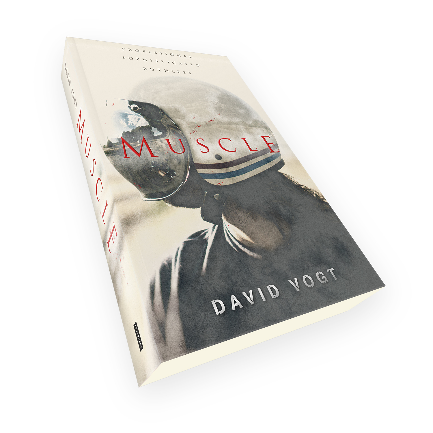 'Muscle' is a bespoke cover design for a modern crime thriller novel. The book cover was designed by Mark Thomas, of coverness.com. To find out more about my book design services, please visit www.coverness.com.