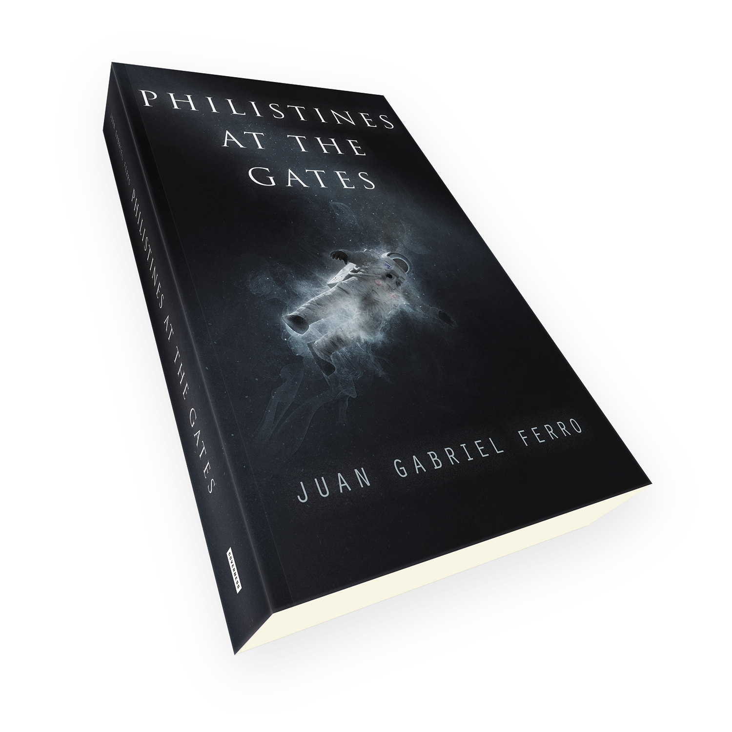 'Philistines At The Gates' is a bespoke cover design for a modern scifi thriller novel. The book cover was designed by Mark Thomas, of coverness.com. To find out more about my book design services, please visit www.coverness.com.