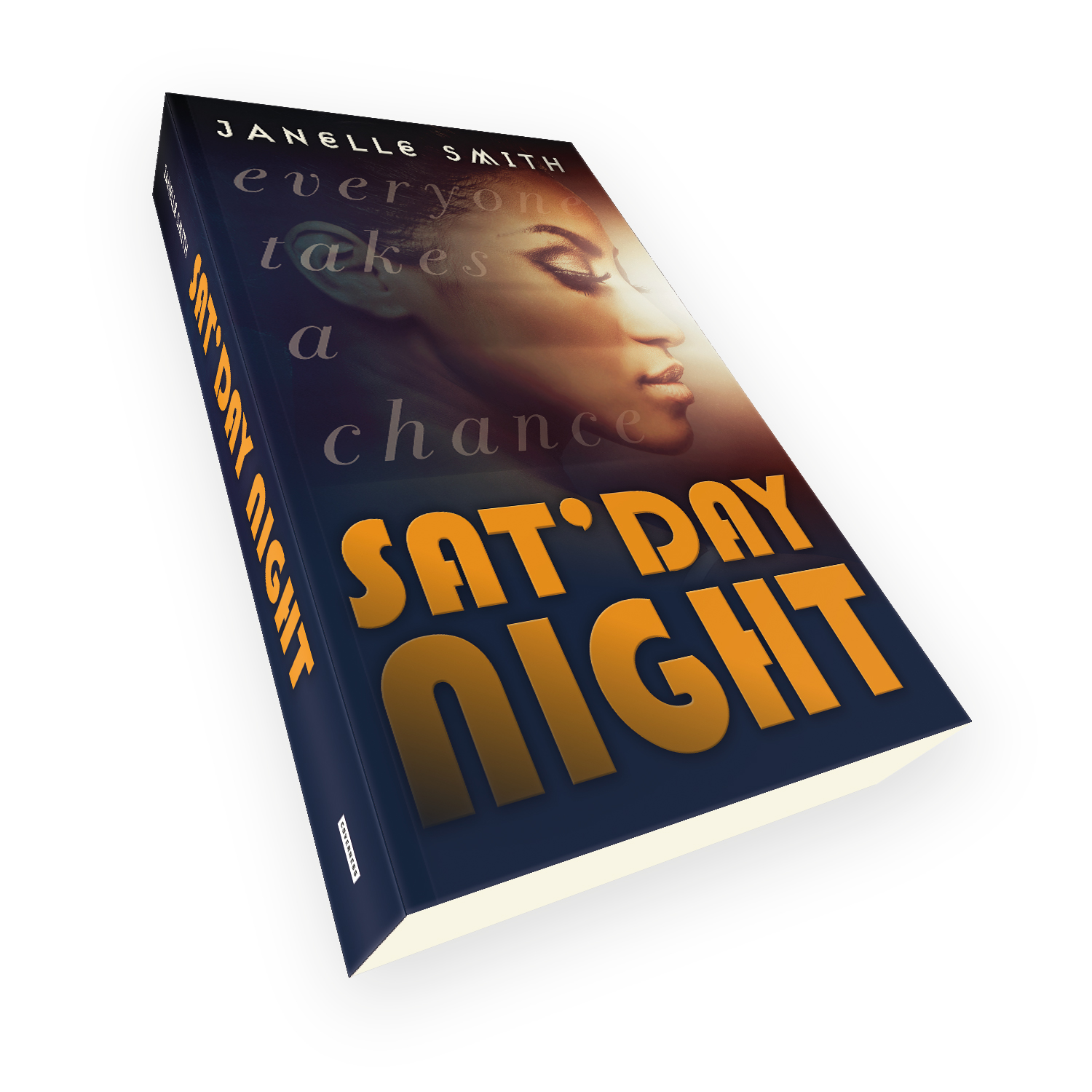 'Sat'Day Night' is a bespoke cover design for a modern dramatic novel. The book cover was designed by Mark Thomas, of coverness.com. To find out more about my book design services, please visit www.coverness.com.