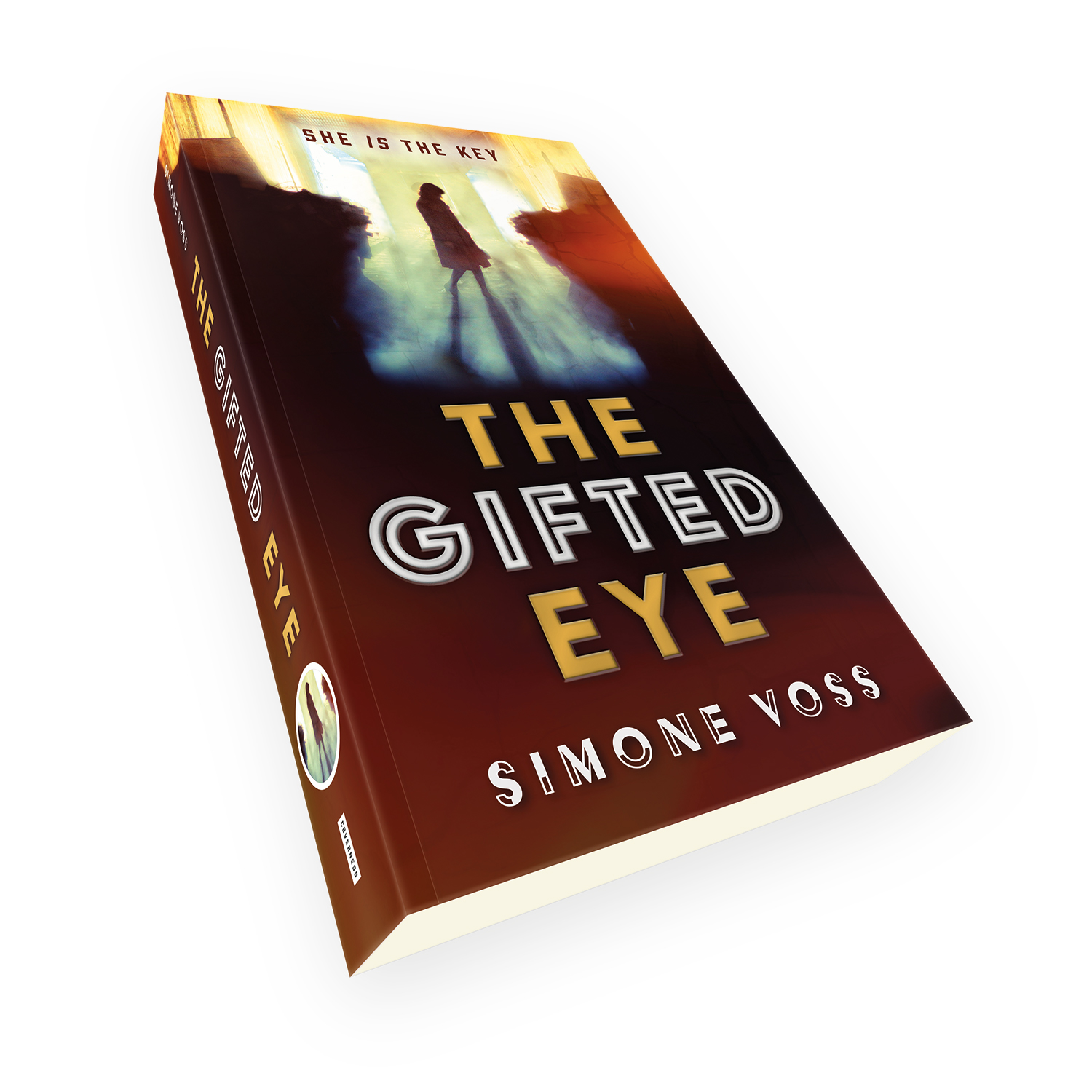 'The Gifted Eye' is a bespoke cover design for a modern paranormal thriller novel. The book cover was designed by Mark Thomas, of coverness.com. To find out more about my book design services, please visit www.coverness.com.