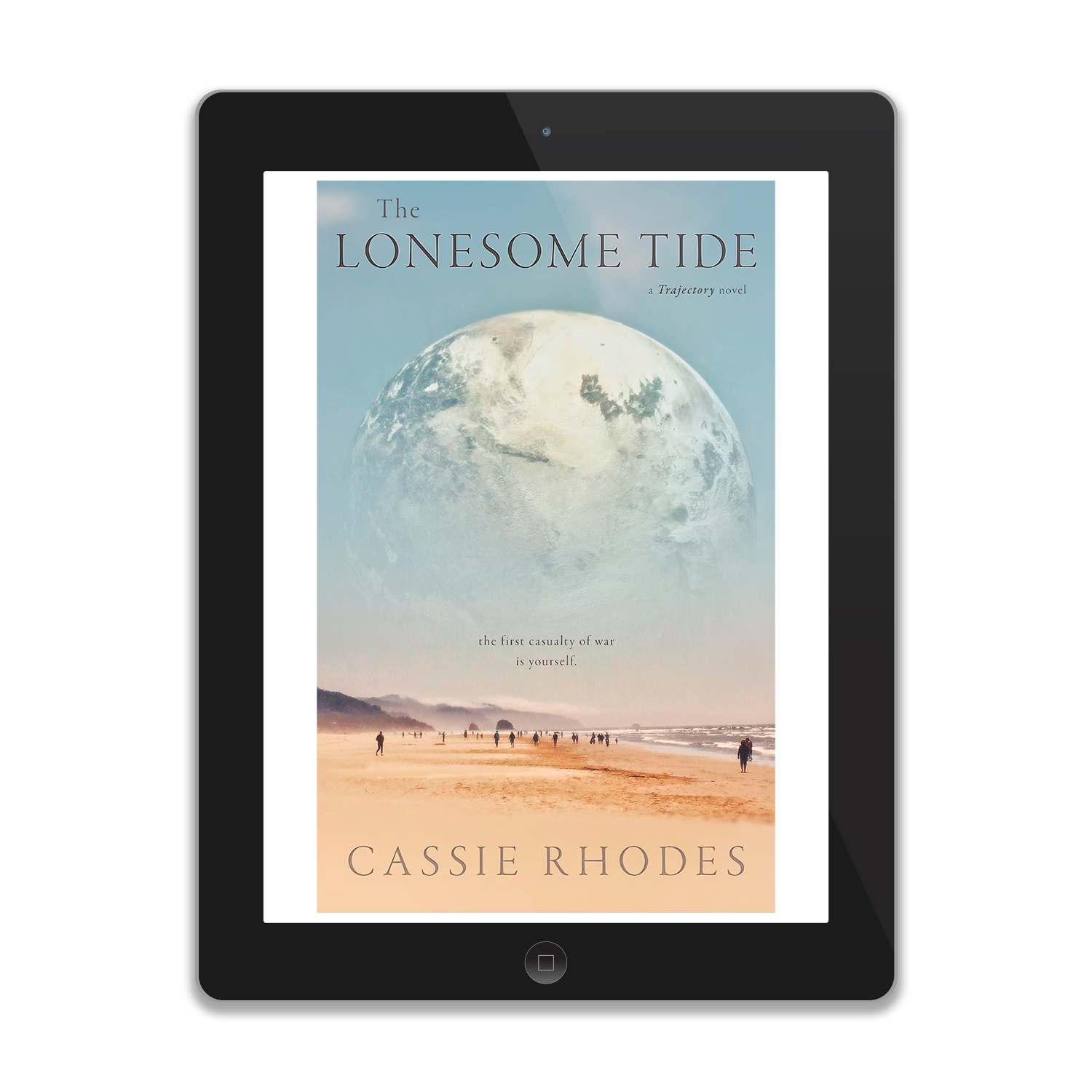 'The Lonesome Tide' is a reflective scifi novel, by author Cassie Rhodes. The book cover was designed by Mark Thomas, of coverness.com. To find out more about my book design services, please visit www.coverness.com.