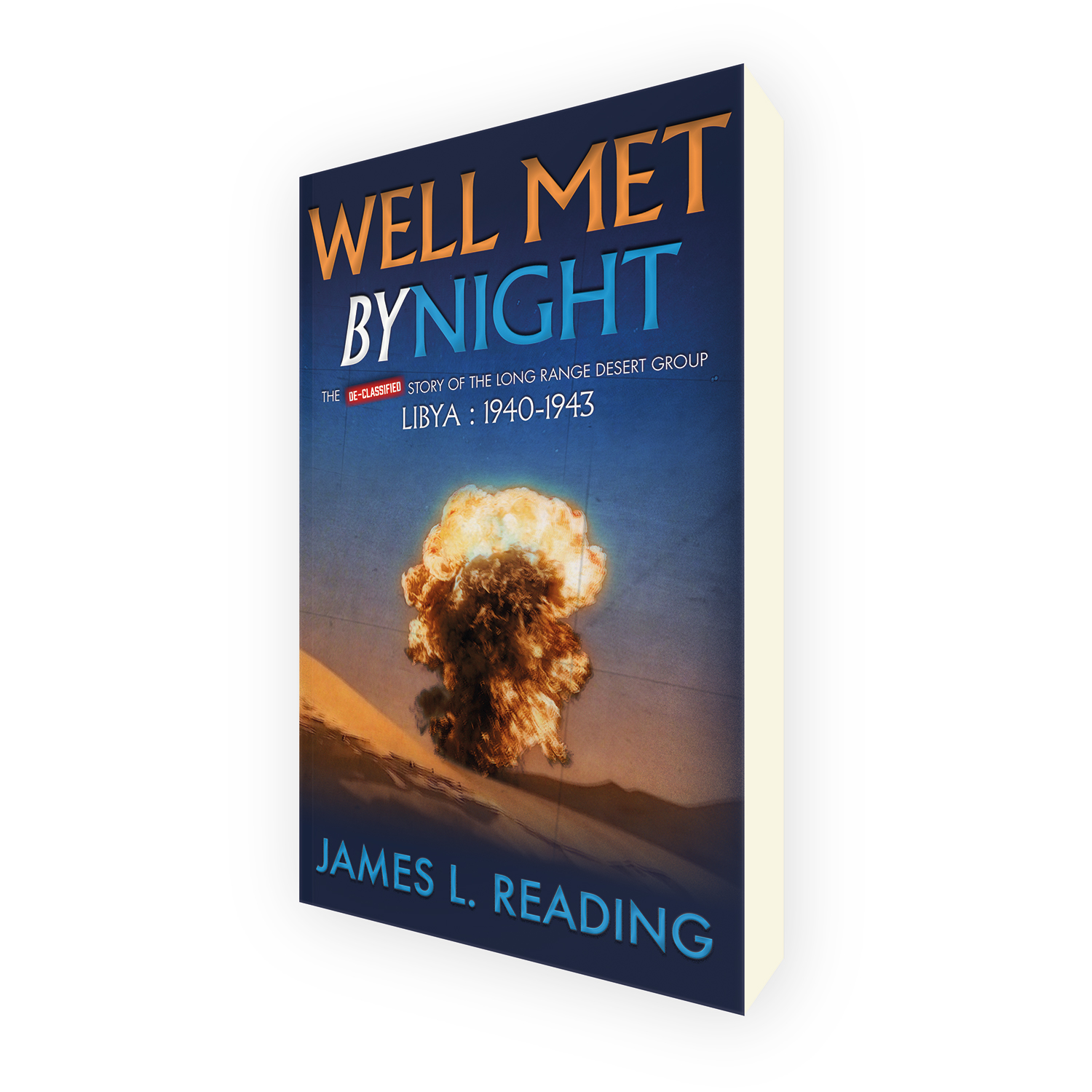 'Well Met By Night' is a bespoke cover design for a military history book. The book cover was designed by Mark Thomas, of coverness.com. To find out more about my book design services, please visit www.coverness.com.
