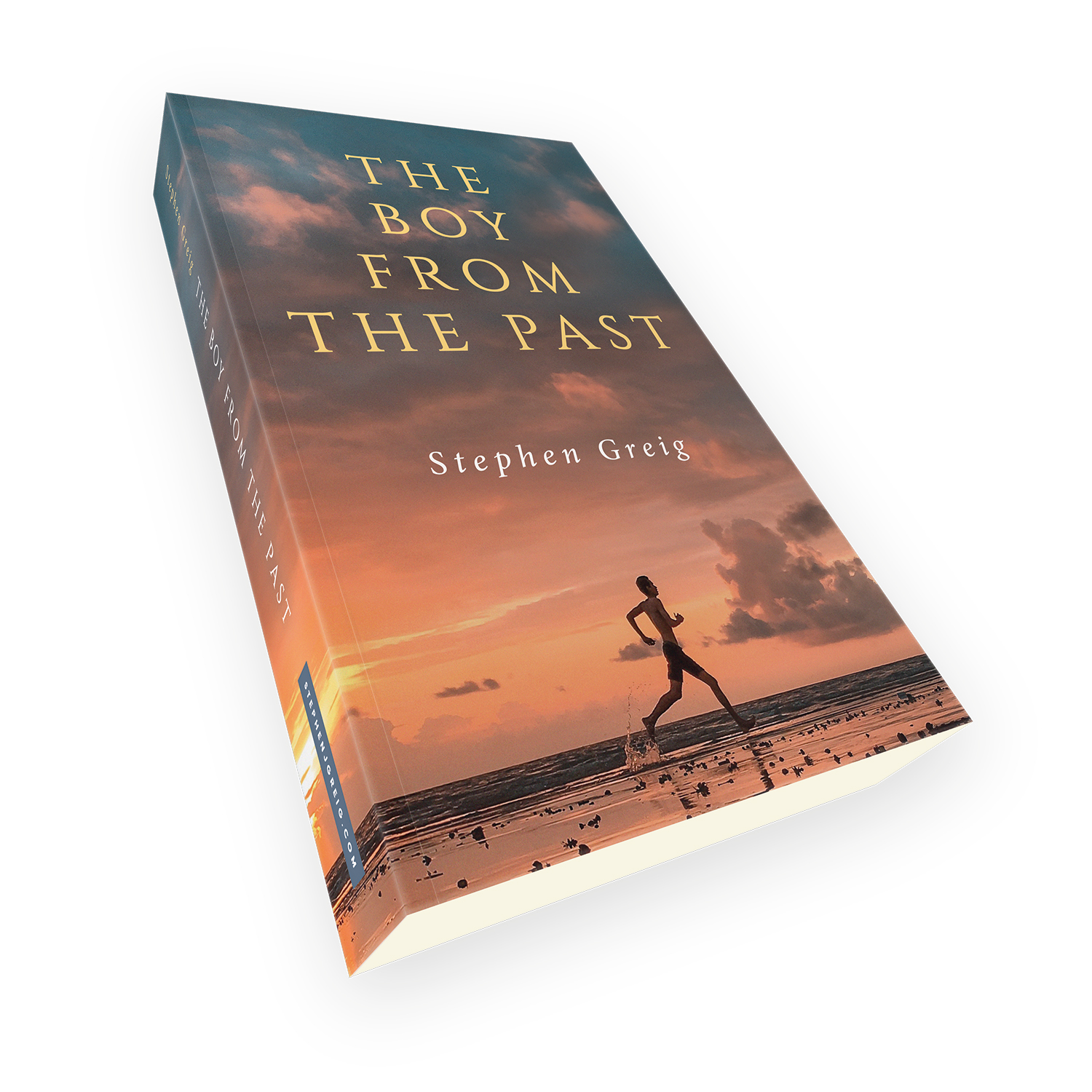 'The Boy From The Past' is an excellent time-spanning mystery, by author Stephen Grieg. The book cover and interior were designed by Mark Thomas, of coverness.com. To find out more about my book design services, please visit www.coverness.com.