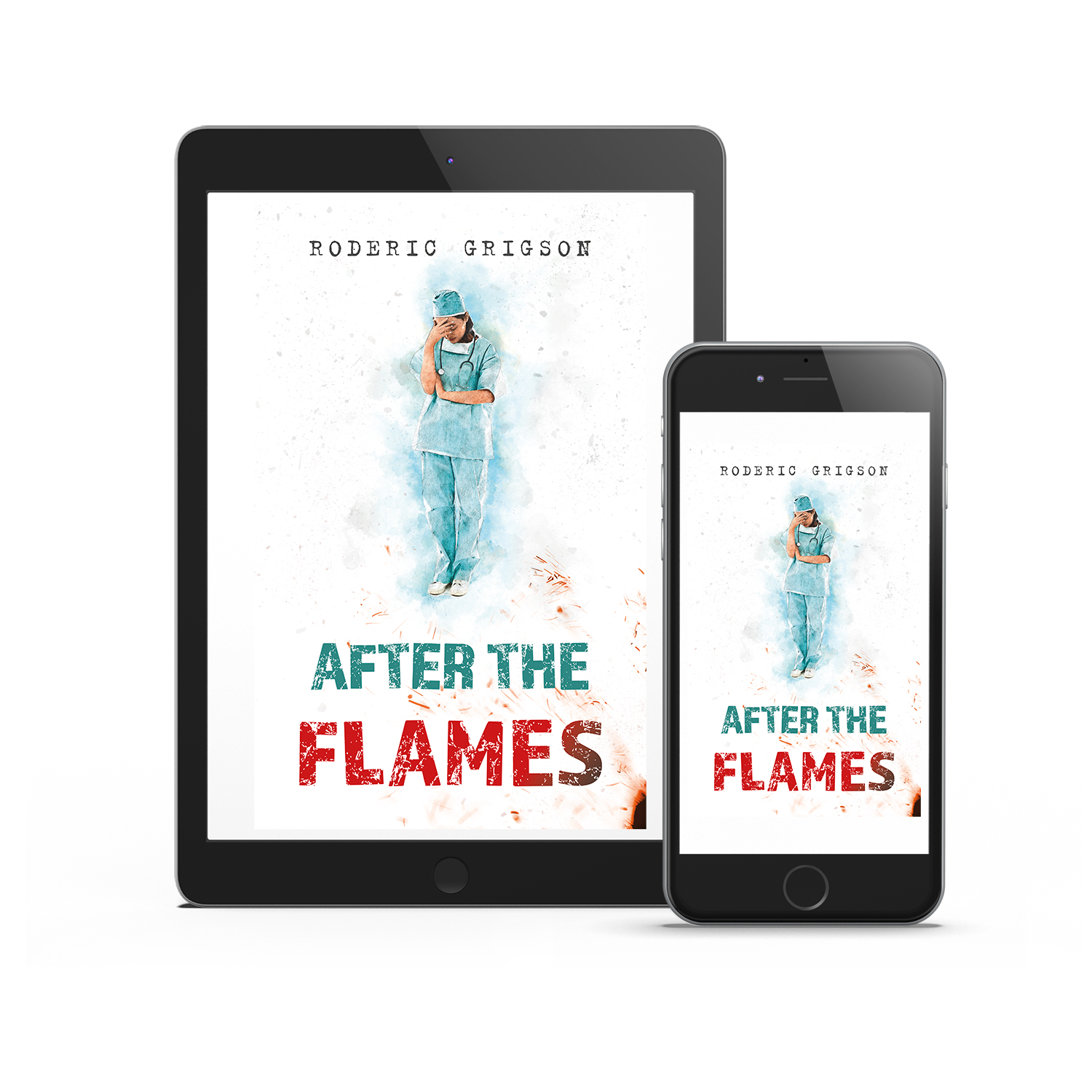 'After The Flames' is realistic dramatic novel by Roderic Grigson, set during the recent Sri Lankan Civil War. The book cover was designed by Mark Thomas, of coverness.com. To find out more about my book design services, please visit www.coverness.com.