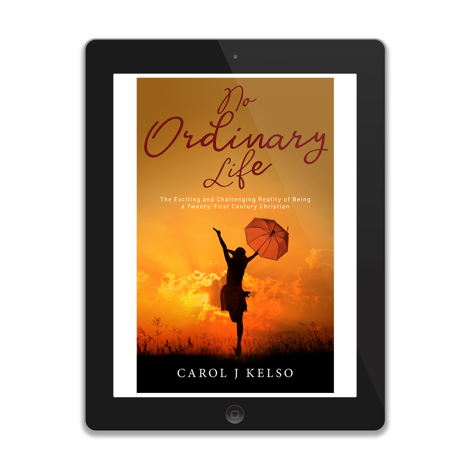 'No Ordinary Life' is a great book about living a 21st Century faith-based life, by author Carol J Kelso. The book cover and interior were designed by Mark Thomas, of coverness.com. To find out more about my book design services, please visit www.coverness.com.