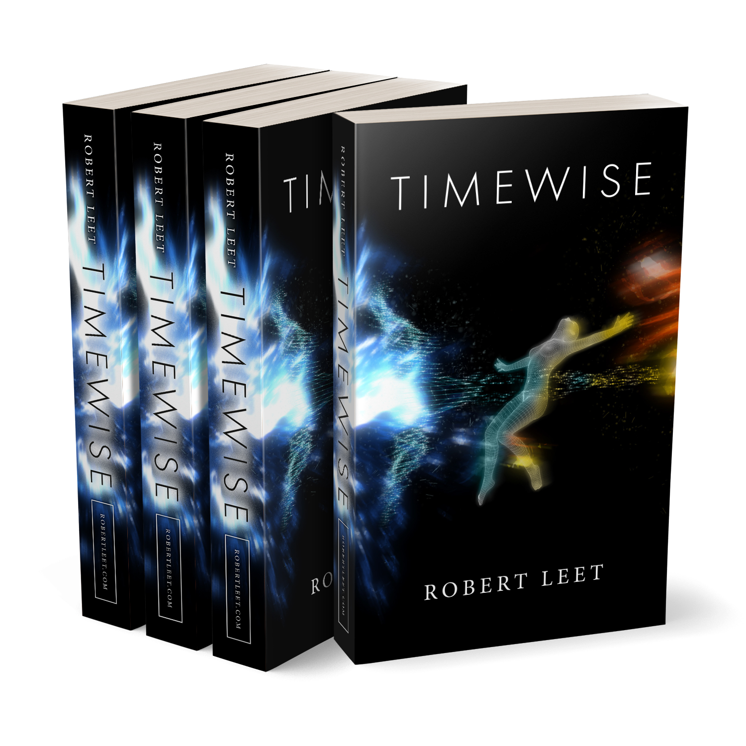'Timewise' is temporally-fractured scifi novel by author Robert Leet. The book cover was designed by Mark Thomas, of coverness.com. To find out more about my book design services, please visit www.coverness.com.