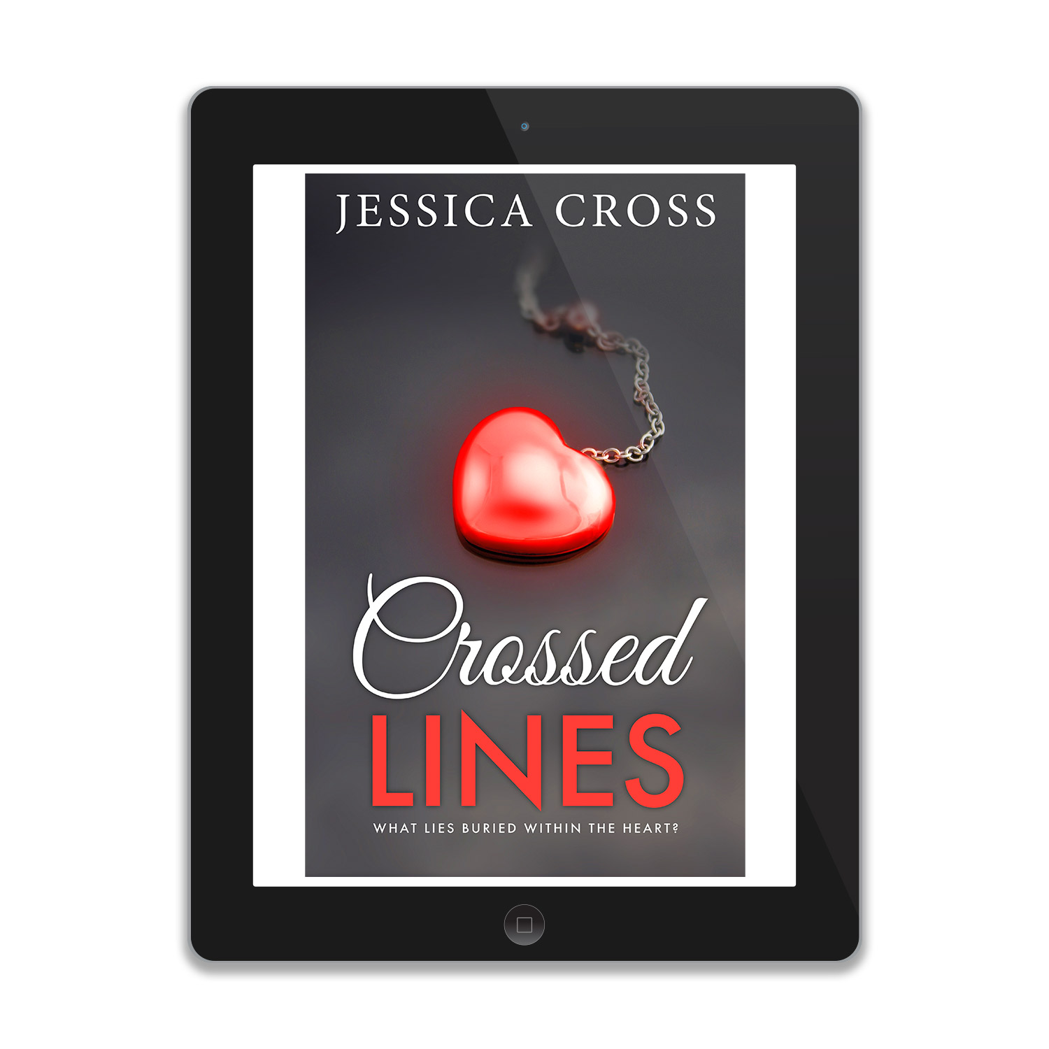 'Crossed Lines' is a dramatically sexy fiction, by Jessica Cross. The book cover and interior were designed by Mark Thomas, of coverness.com. To find out more about my book design services, please visit www.coverness.com.