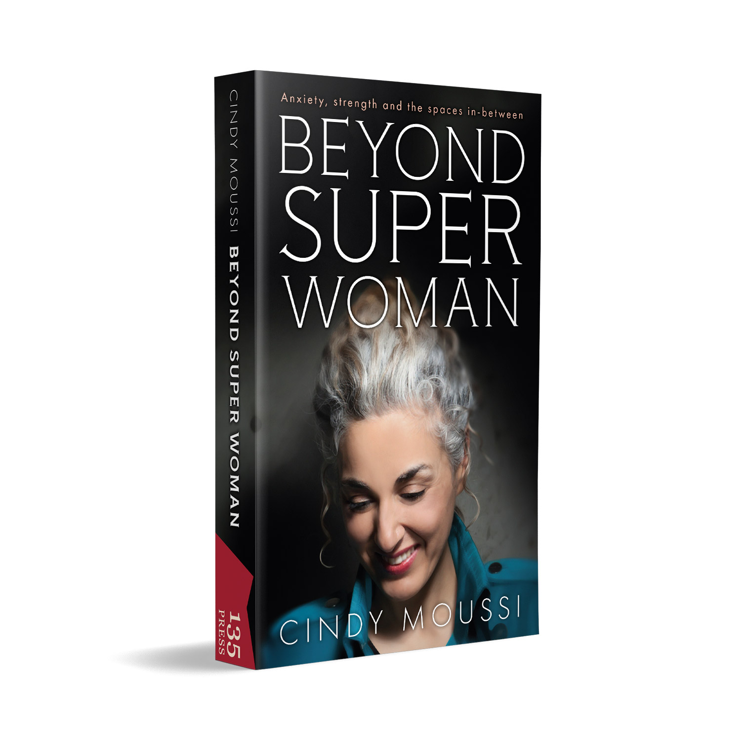 'Beyond Super Woman' is a deeply personal autobiography. The book cover was designed by Mark Thomas, of coverness.com. To find out more about my book design services, please visit www.coverness.com.