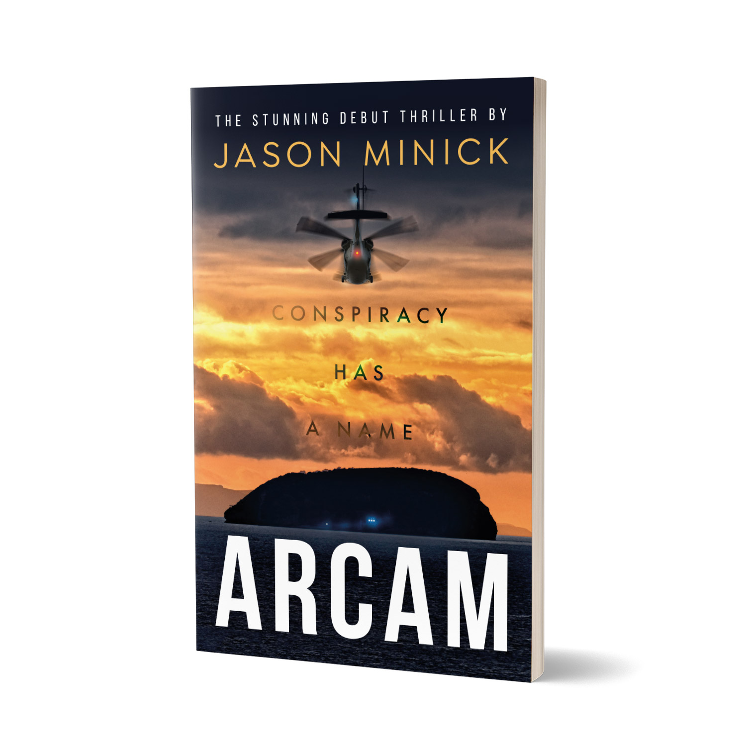 'ARCAM' is a mystery thriller on an epic scale, by Jason Minick. The book cover and interior were designed by Mark Thomas, of coverness.com. To find out more about my book design services, please visit www.coverness.com.