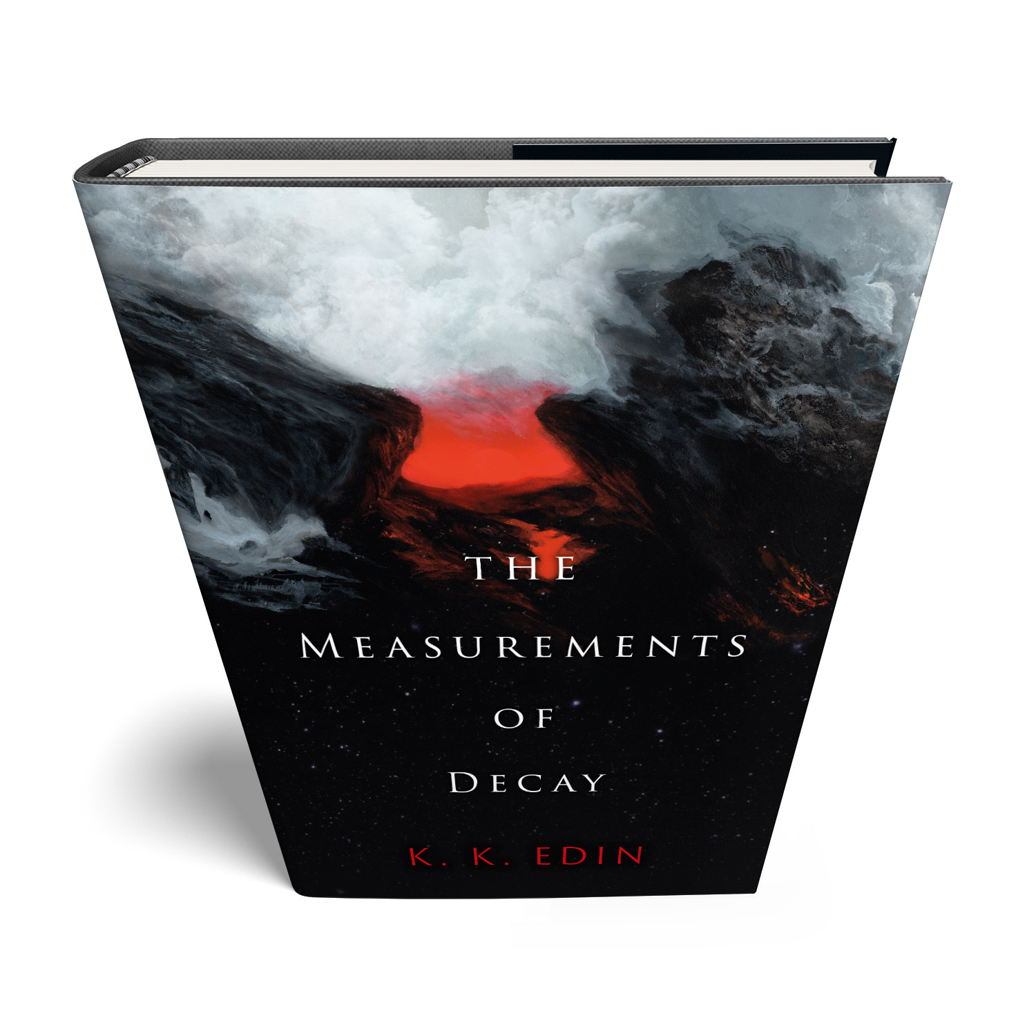 'The Measurements of Decay' is a bespoke cover design for a modern classic scifi novel. The book cover was designed by Mark Thomas, of coverness.com. To find out more about my book design services, please visit www.coverness.com.