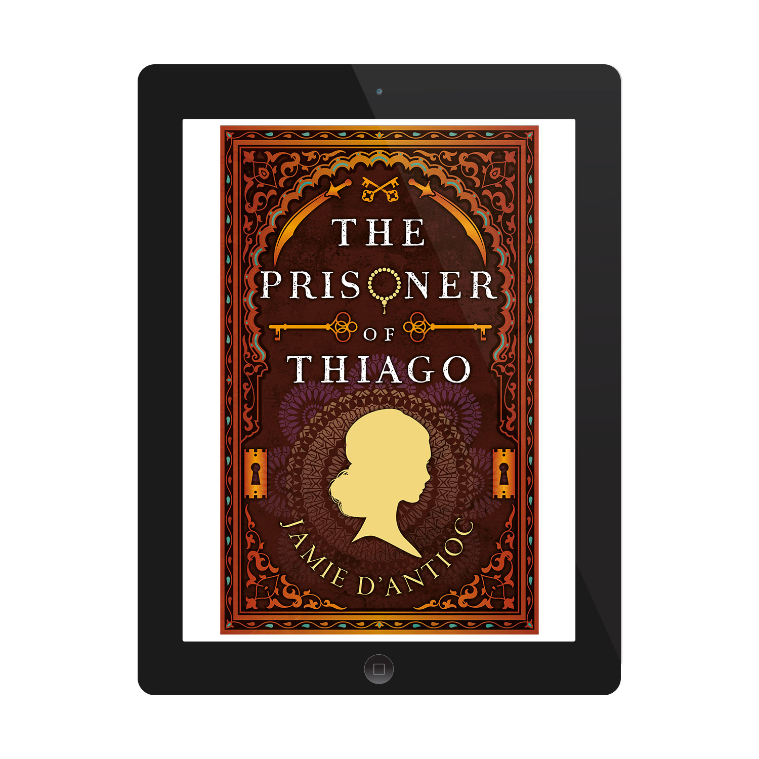 'The Prisoner of Thiago' is a thrilling historical novel, by Jamie D'Antioc. The book cover and interior were designed by Mark Thomas, of coverness.com. To find out more about my book design services, please visit www.coverness.com.