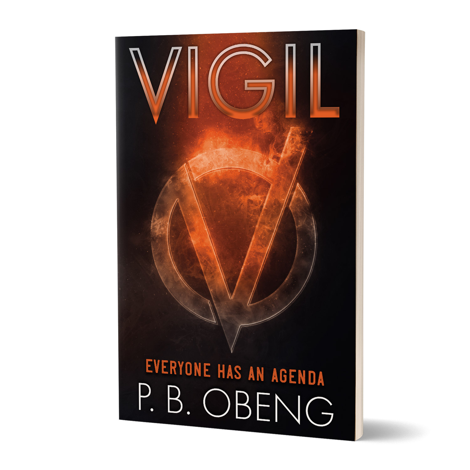 'Vigil' is a superhero-powered sci-fi, by P B Obeng. The book cover and interior were designed by Mark Thomas, of coverness.com. To find out more about my book design services, please visit www.coverness.com.