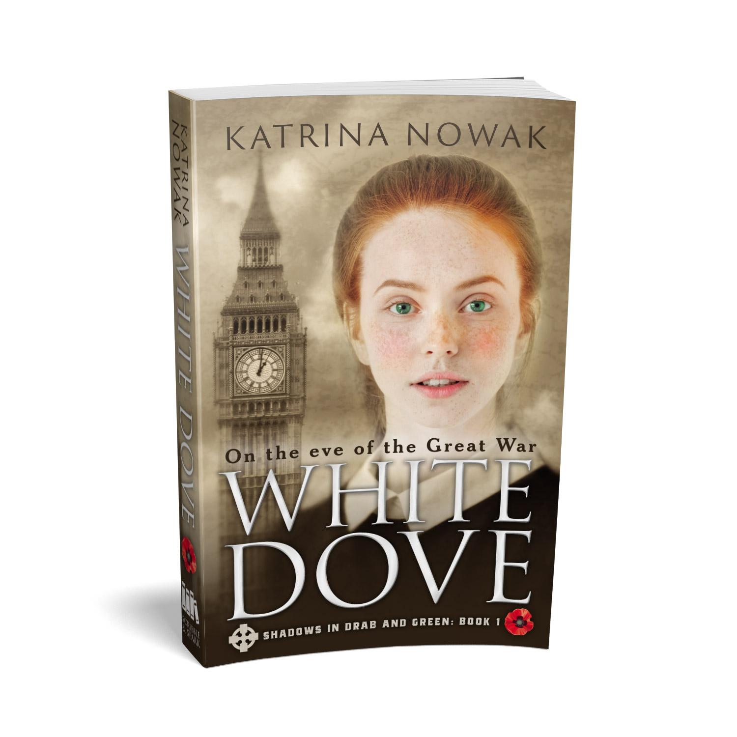'White Dove' is a sweeping historical novel, set on the eve of WW1, by Katrina Nowak. The book cover and interior were designed by Mark Thomas, of coverness.com. To find out more about my book design services, please visit www.coverness.com.