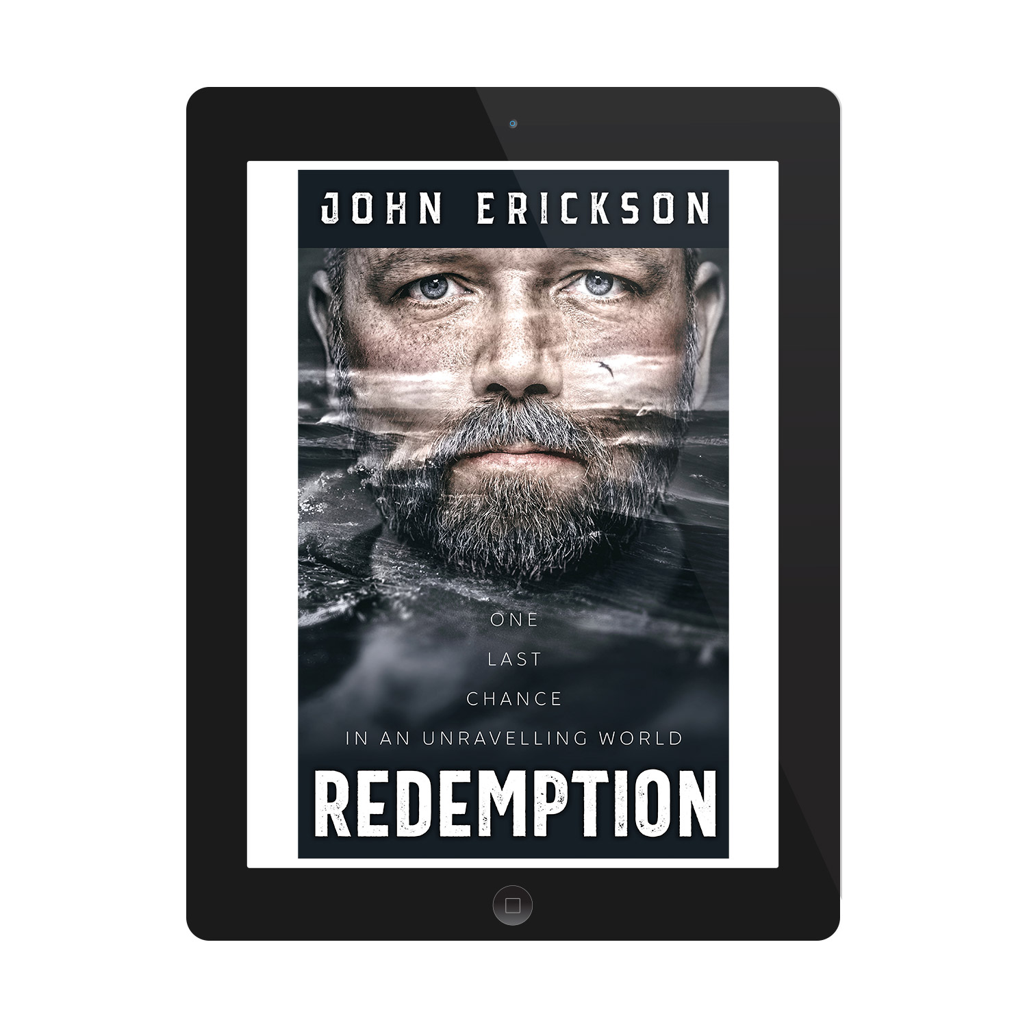 'Redemption' is a unique thriller novel by debut author, John Erickson. The book cover and interior were designed by Mark Thomas, of coverness.com. To find out more about my book design services, please visit www.coverness.com.