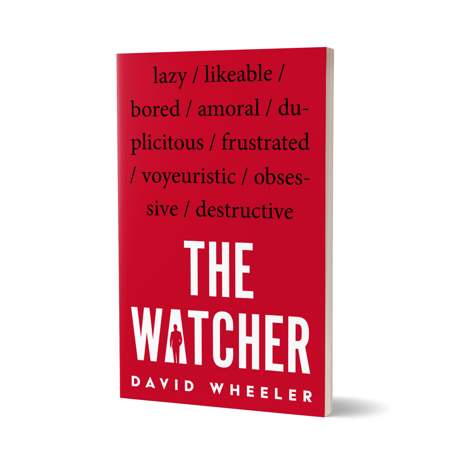 'The Watcher' is a cautionary tale of the perils of voyeurism. The author is David Wheeler. The book cover and interior were designed by Mark Thomas, of coverness.com. To find out more about my book design services, please visit www.coverness.com.
