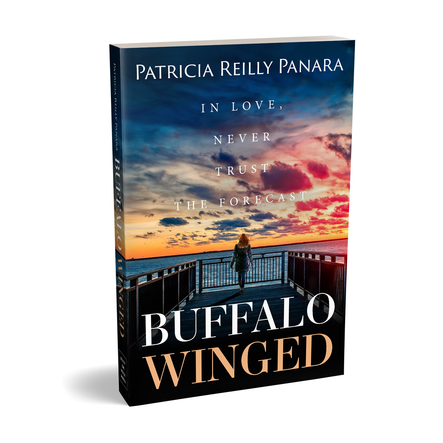 'Buffalo Winged' is a romantic novel, set in upstate New York. The author is Patricia Reilly Panara. The book cover and interior were designed by Mark Thomas, of coverness.com. To find out more about my book design services, please visit www.coverness.com.