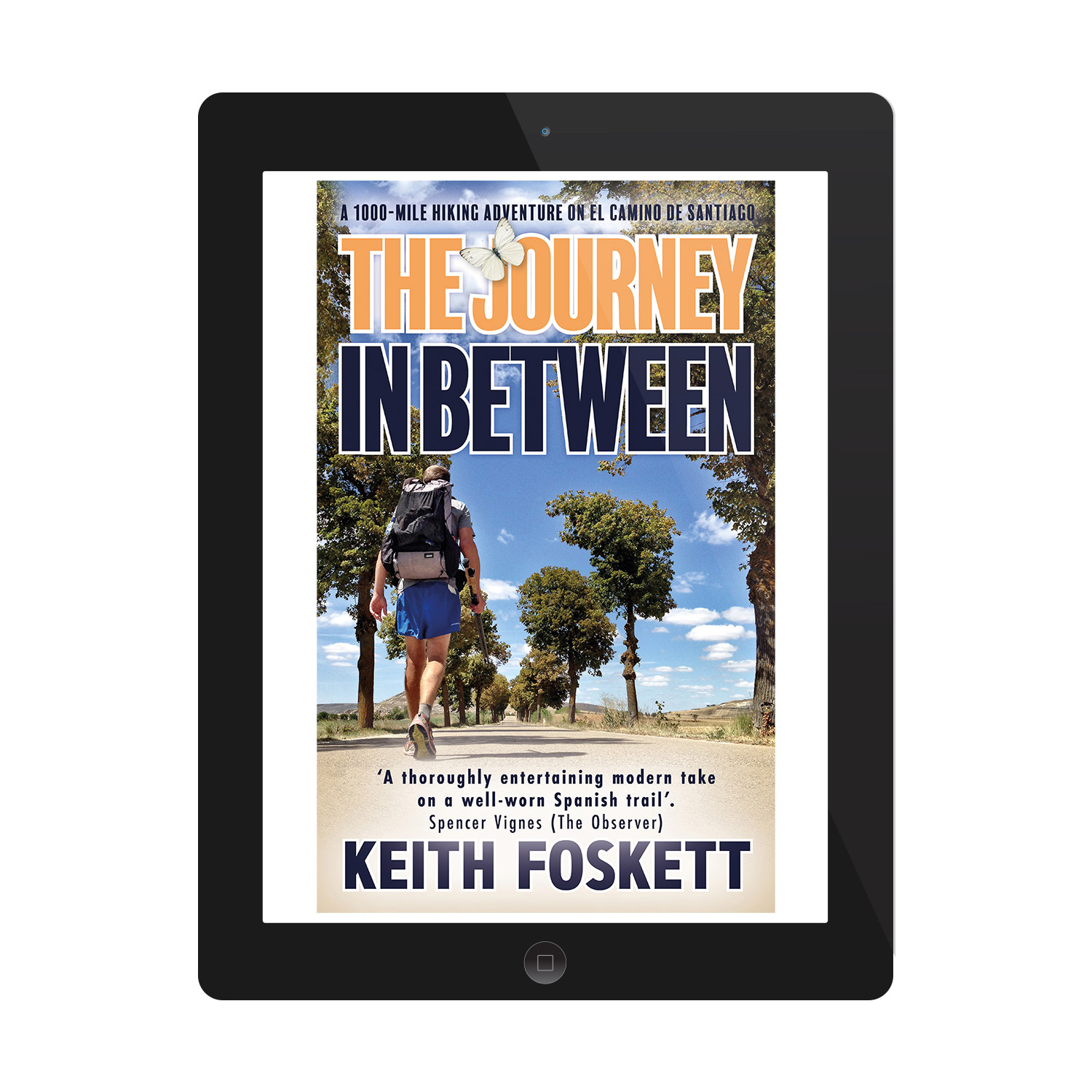 'The Journey In Between' is an excellent hiking memoir, about one man's trek along the El Camino De Santiago. The author is Keith Foskett. The book cover was designed by Mark Thomas, of coverness.com. To find out more about my book design services, please visit www.coverness.com.