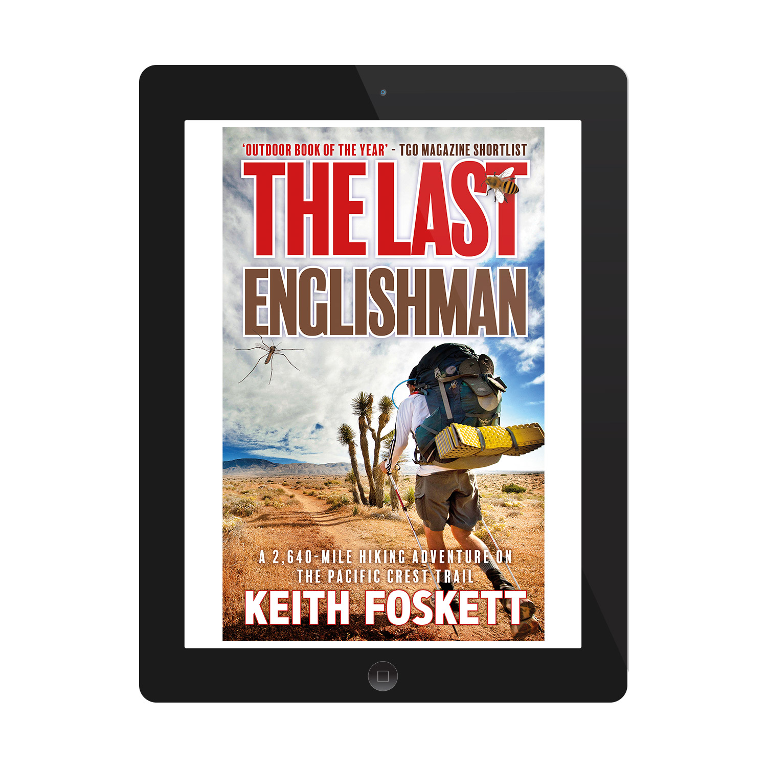 'The Last Englishman' is an excellent humorous walking memoir, about one man's trek along the Pacific Coast Trail. The author is Keith Foskett. The book cover was designed by Mark Thomas, of coverness.com. To find out more about my book design services, please visit www.coverness.com.