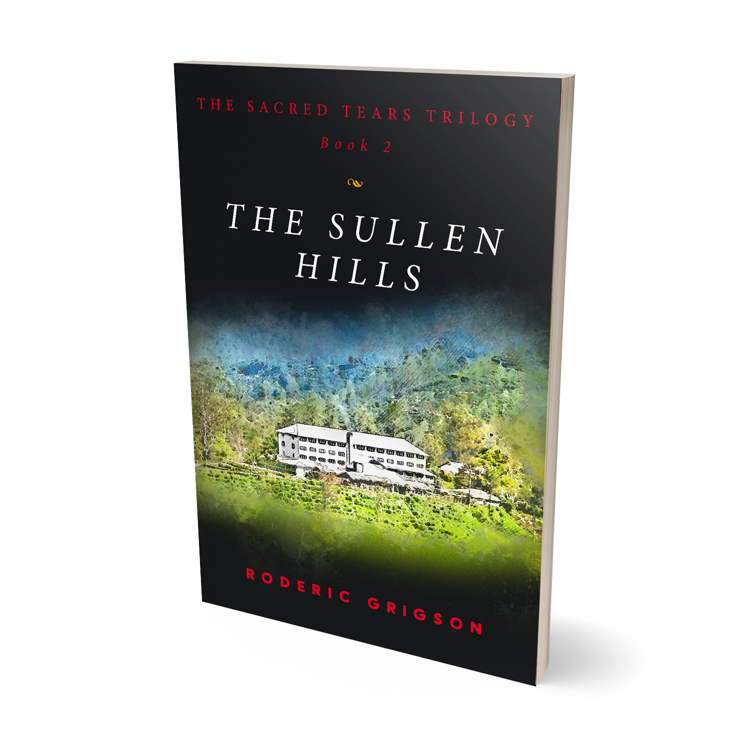 'The Sullen Hills' is the second part in a dramatic trilogy by Roderic Grigson, set during the recent Sri Lankan Civil War. The book cover and interior were designed by Mark Thomas, of coverness.com. To find out more about my book design services, please visit www.coverness.com.