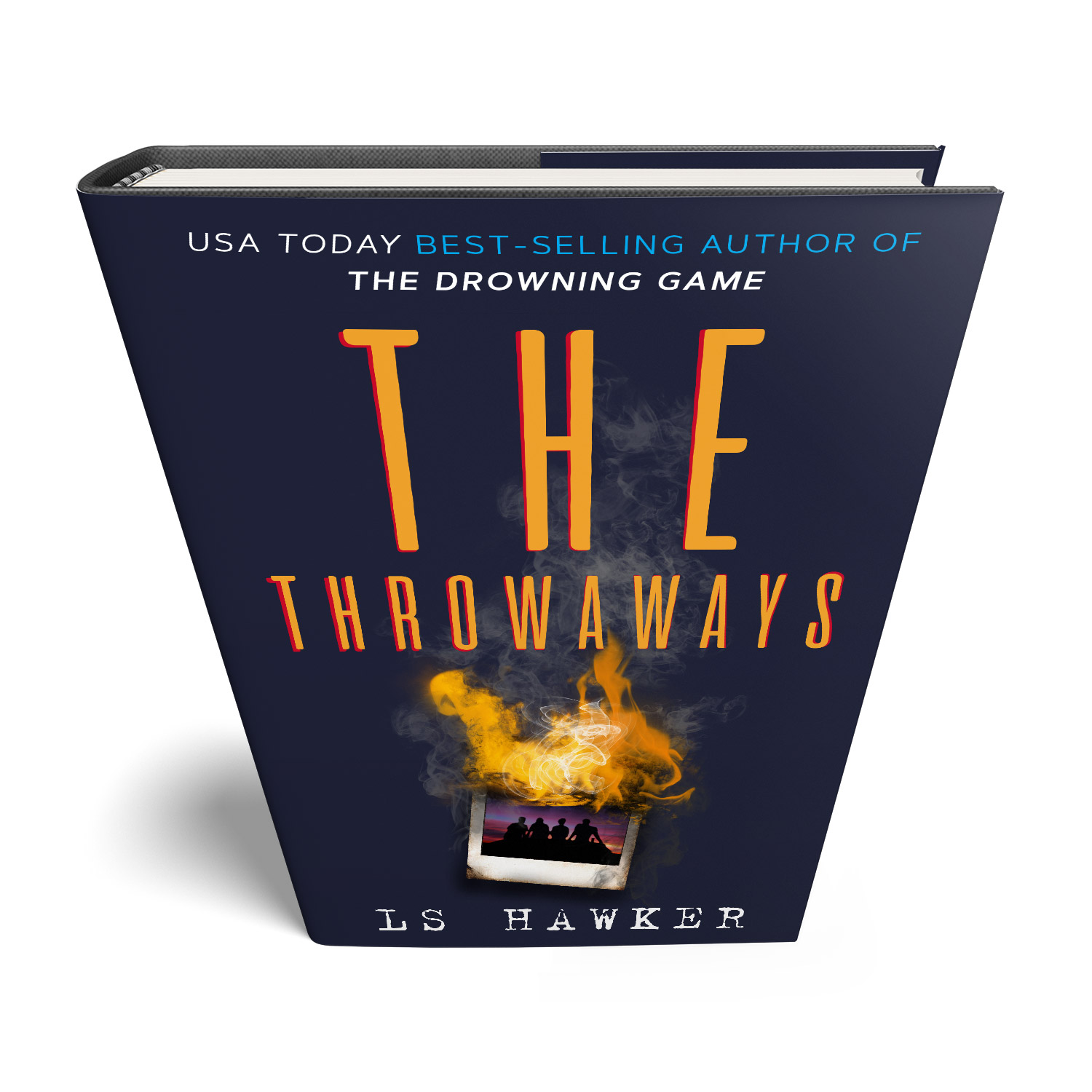 'The Throwaways' is a breakneck, 80s-set conspiracy thriller. The author is LS Hawker. The book cover and interior design are by Mark Thomas. To learn more about what Mark could do for your book, please visit coverness.com.