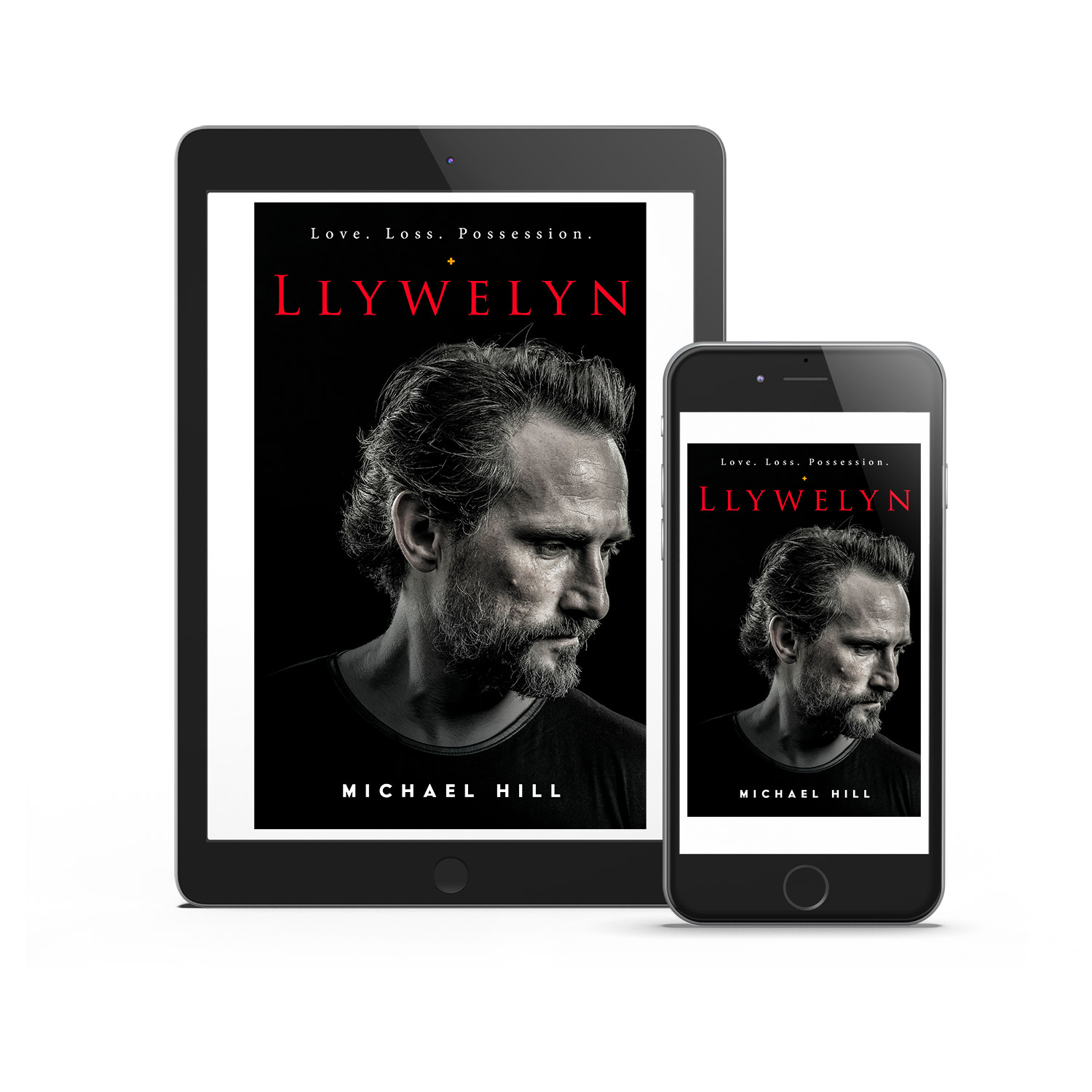 'Llywelyn' is a dark, Welsh interpersonal dramatic novel. The author is Michael Hill. The book cover design is by Mark Thomas. To learn more about what Mark could do for your book, please visit coverness.com.