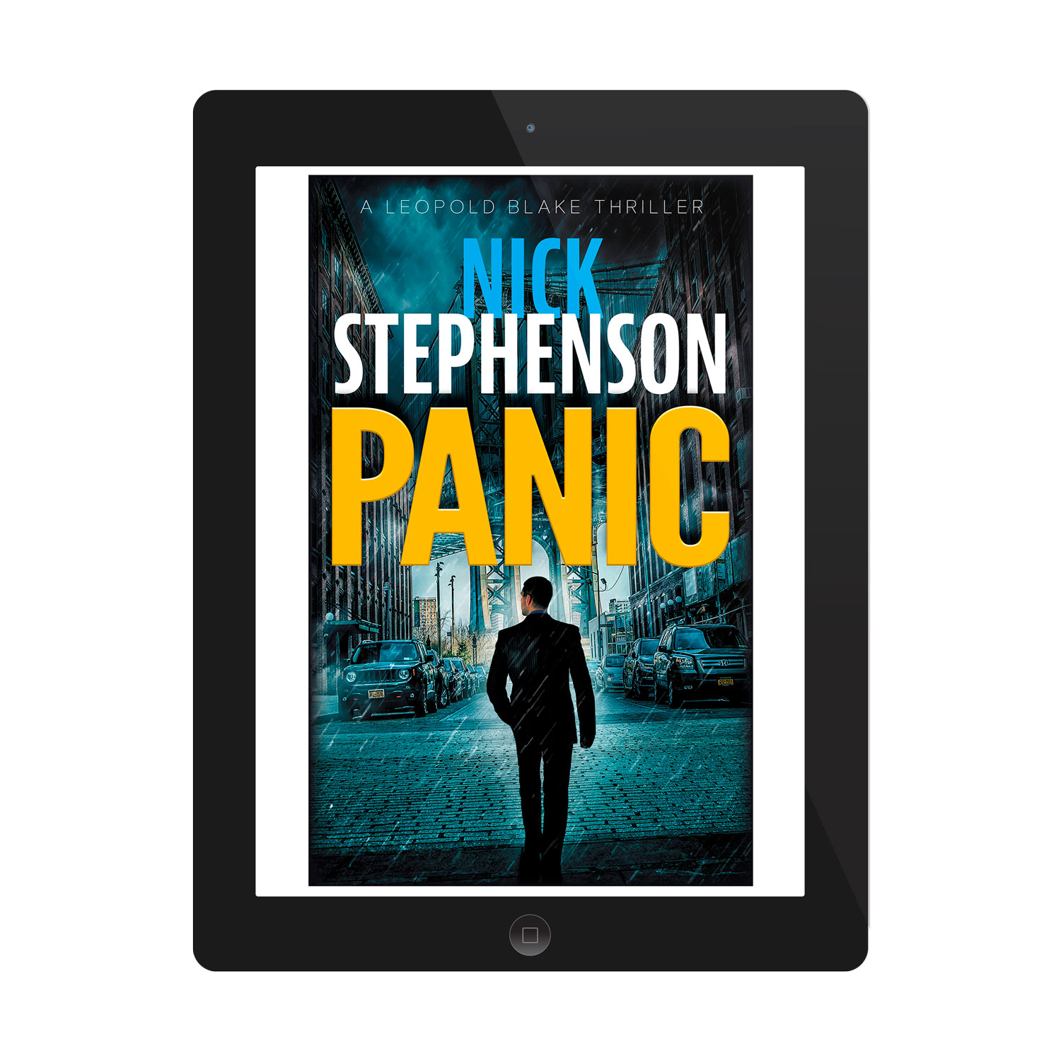 'Leopold Blake' is a terrific thriller series. The author is Nick Stephenson. The book cover designs are by Mark Thomas. To learn more about what Mark could do for your book, please visit coverness.com.