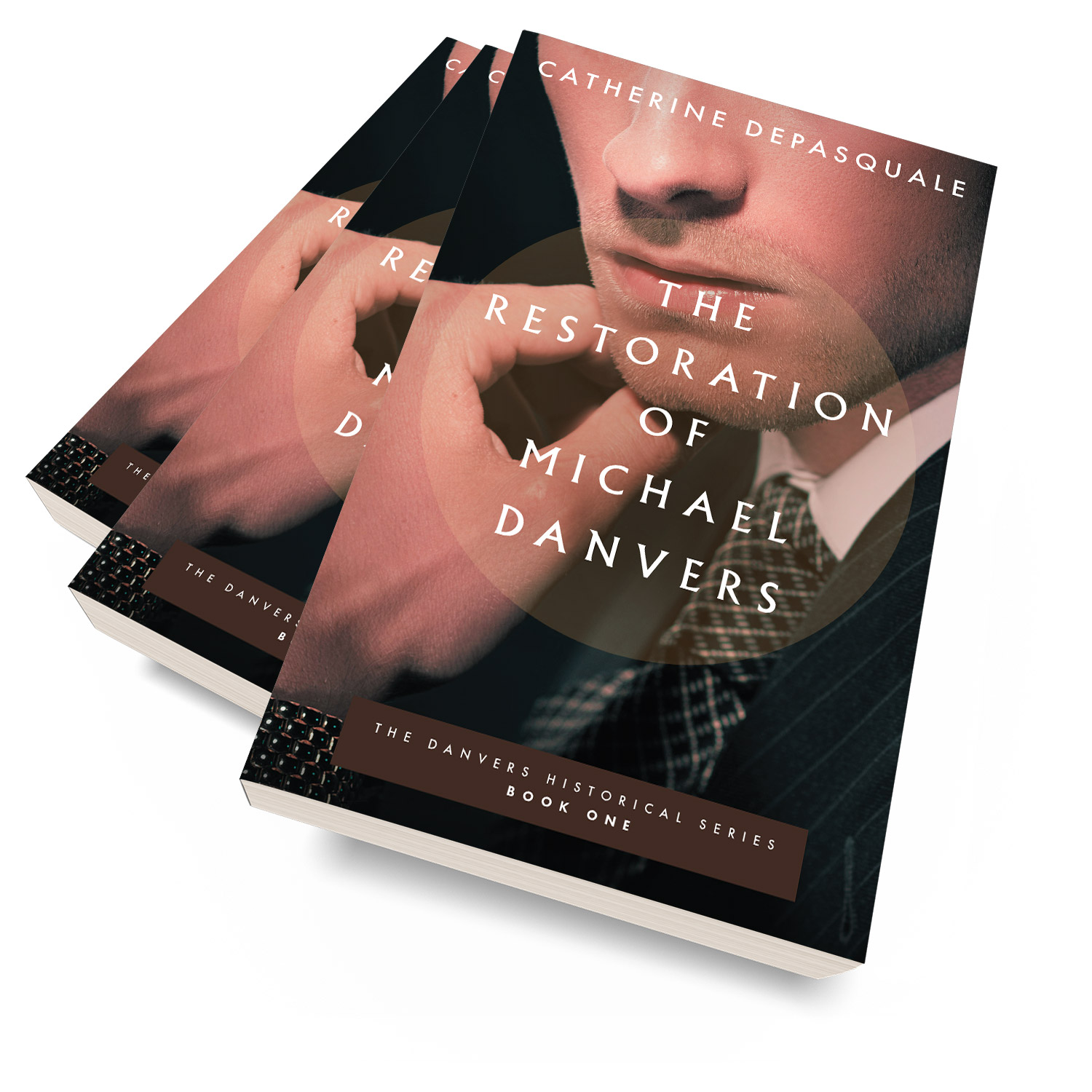 'The Restoration of Michael Danvers' is a faith-focussed character study, set in the late 1940s. The author is Catherine DePasquale. The book cover design and interior formatting are by Mark Thomas. To learn more about what Mark could do for your book, please visit coverness.com.