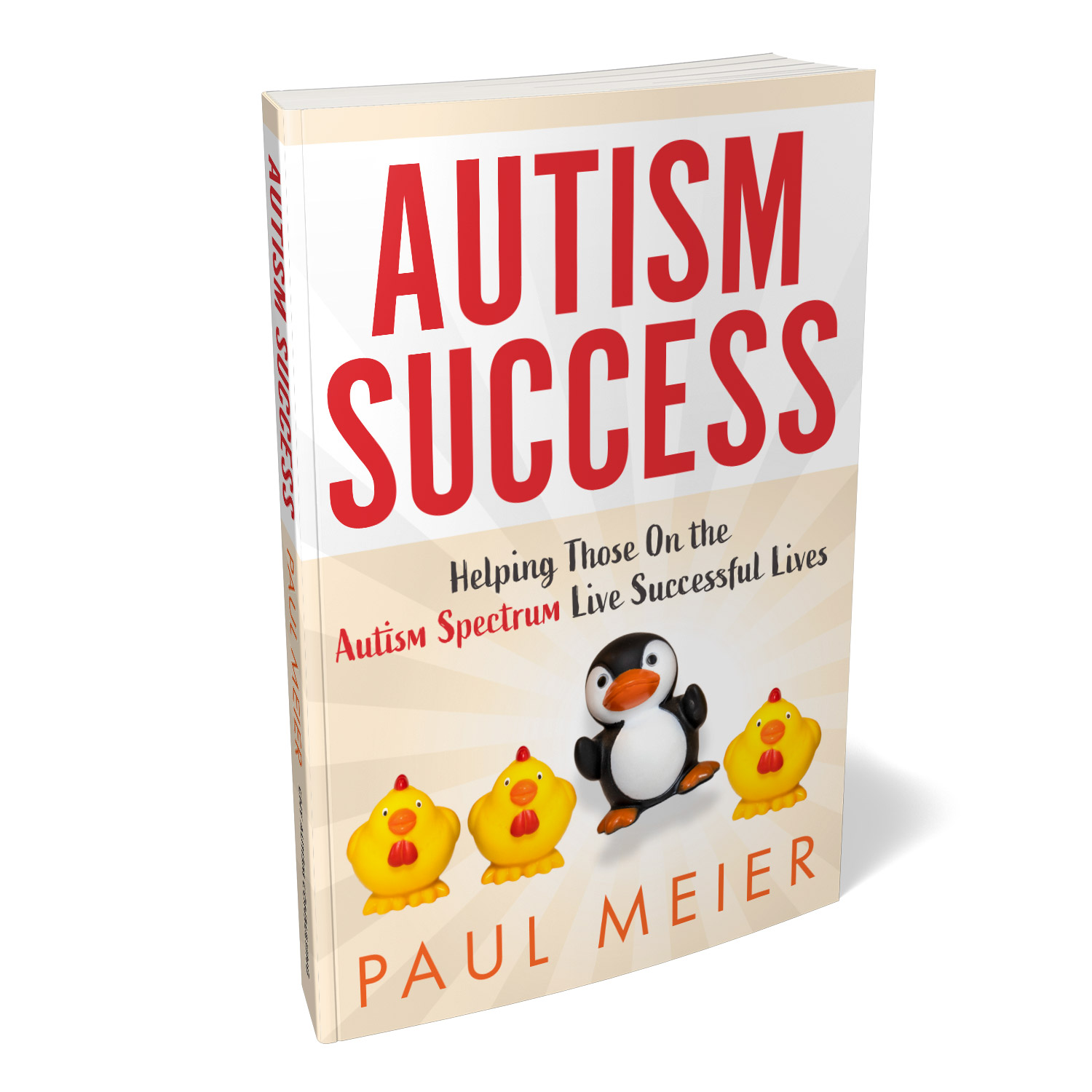 'Autism Success' is useful coping guide, helping those with Autism lead successful live. The author is Paul Meier. The book cover design and interior formatting are by Mark Thomas. To learn more about what Mark could do for your book, please visit coverness.com.
