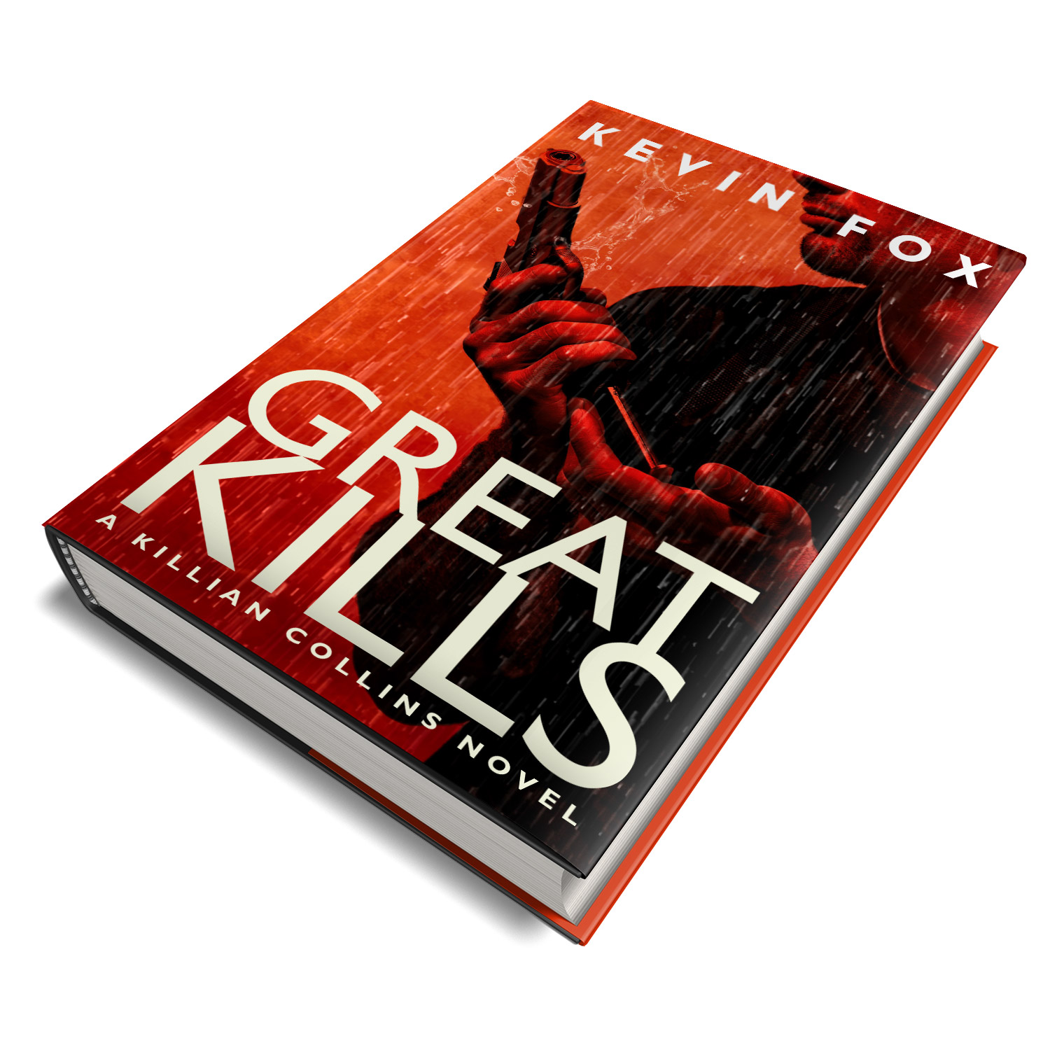 'Great Kills' is a great, gritty, character-led thriller. The author is Kevin Fox. The book cover design and interior formatting are by Mark Thomas. To learn more about what Mark could do for your book, please visit coverness.com.