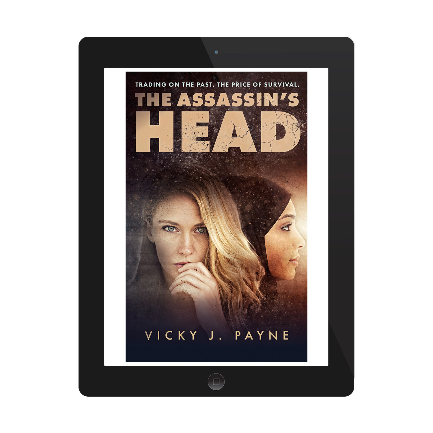 'The Assassin's Head' is a terrific female-led thriller, set in the aftermath of the 2003 Iraq War. The author is Vicky J. Ward. The book cover design and interior formatting are by Mark Thomas. To learn more about what Mark could do for your book, please visit coverness.com.