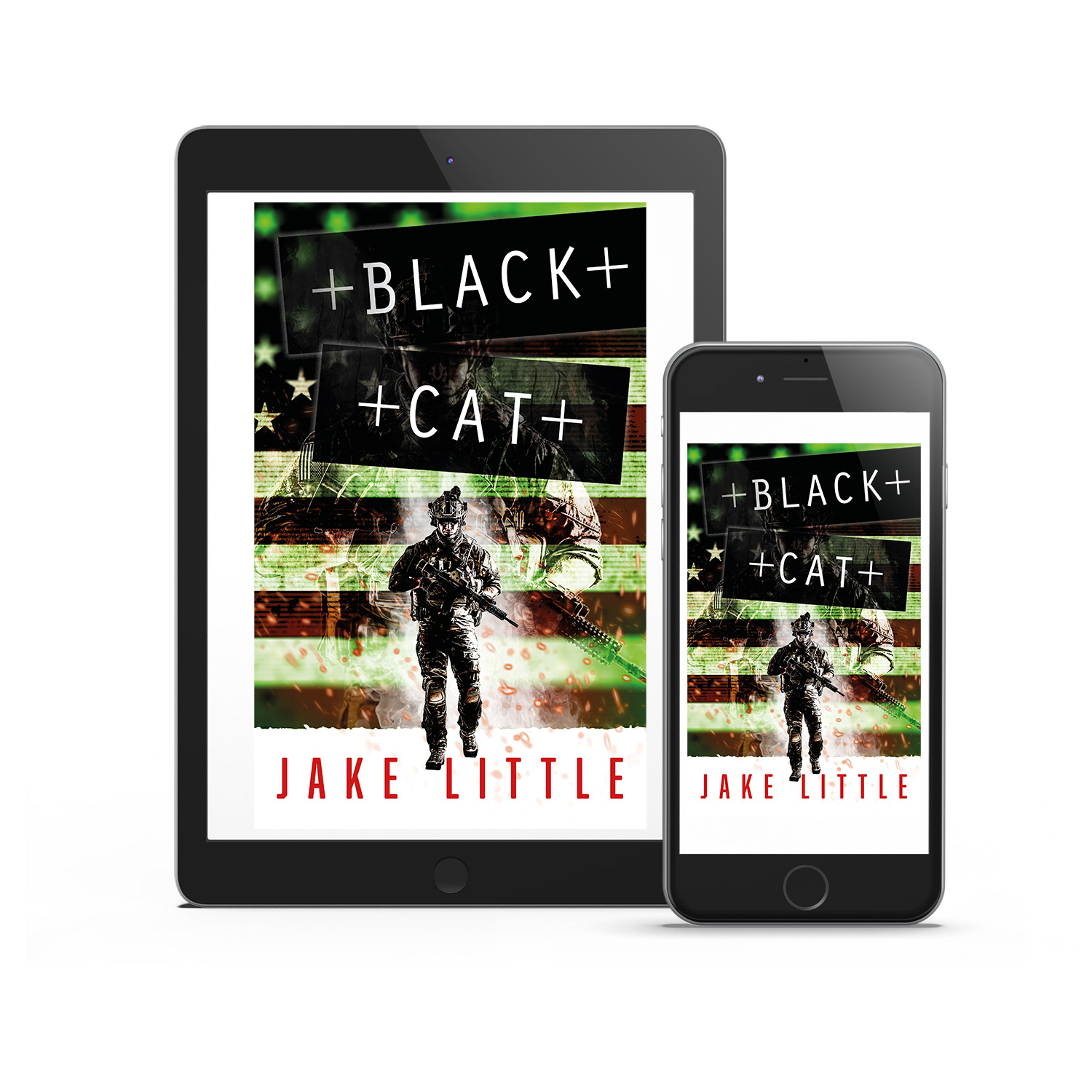 'Black Cat' is a hard-edged, covert ops thriller. The author is Jake Little. The cover design and interior manuscript formatting are by Mark Thomas. Learn what Mark could do for your book by visiting coverness.com.