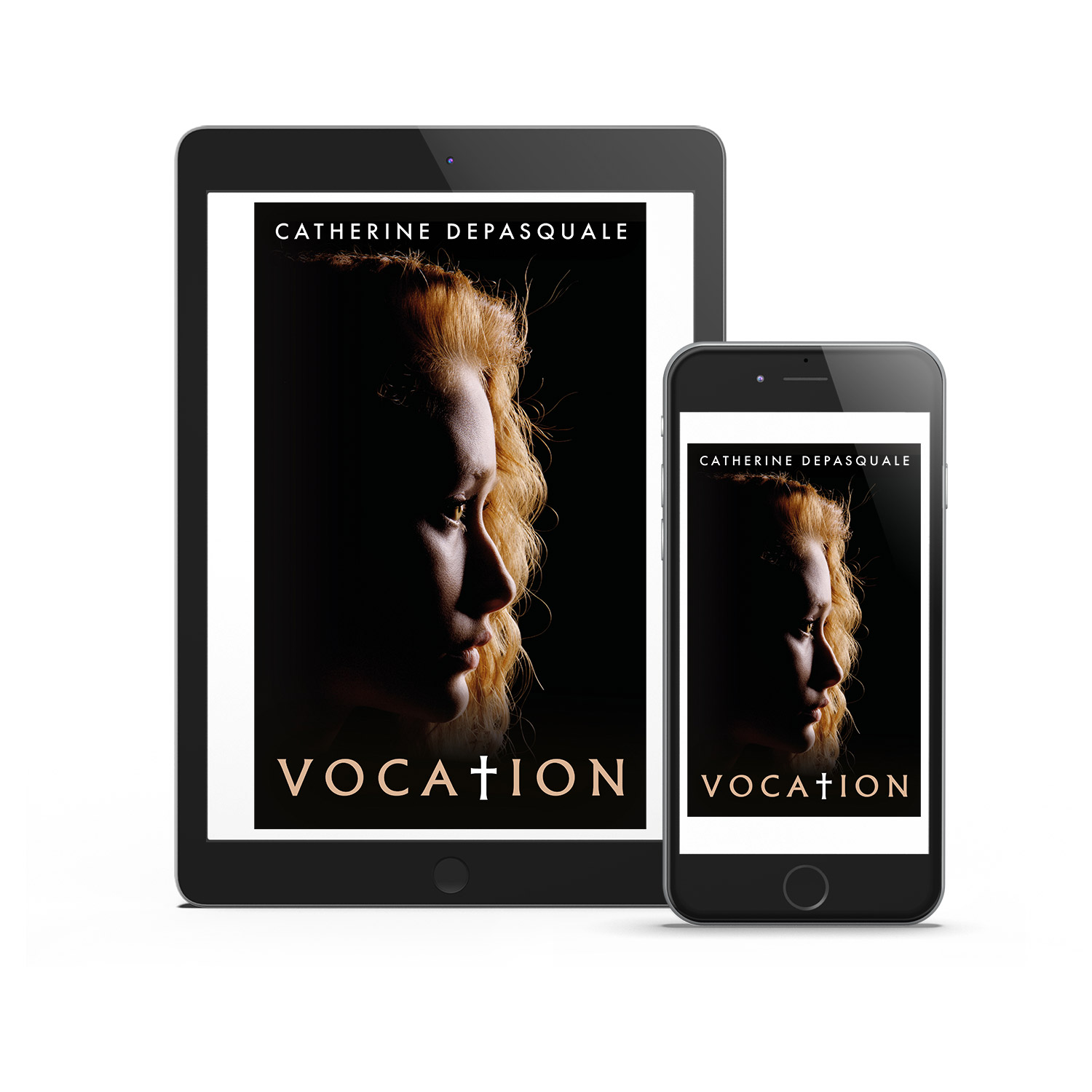 'Vocation' is a great faith-focussed modern novel. The author is Catherine DePasquale. The book cover design and interior formatting are by Mark Thomas. To learn more about what Mark could do for your book, please visit coverness.com.