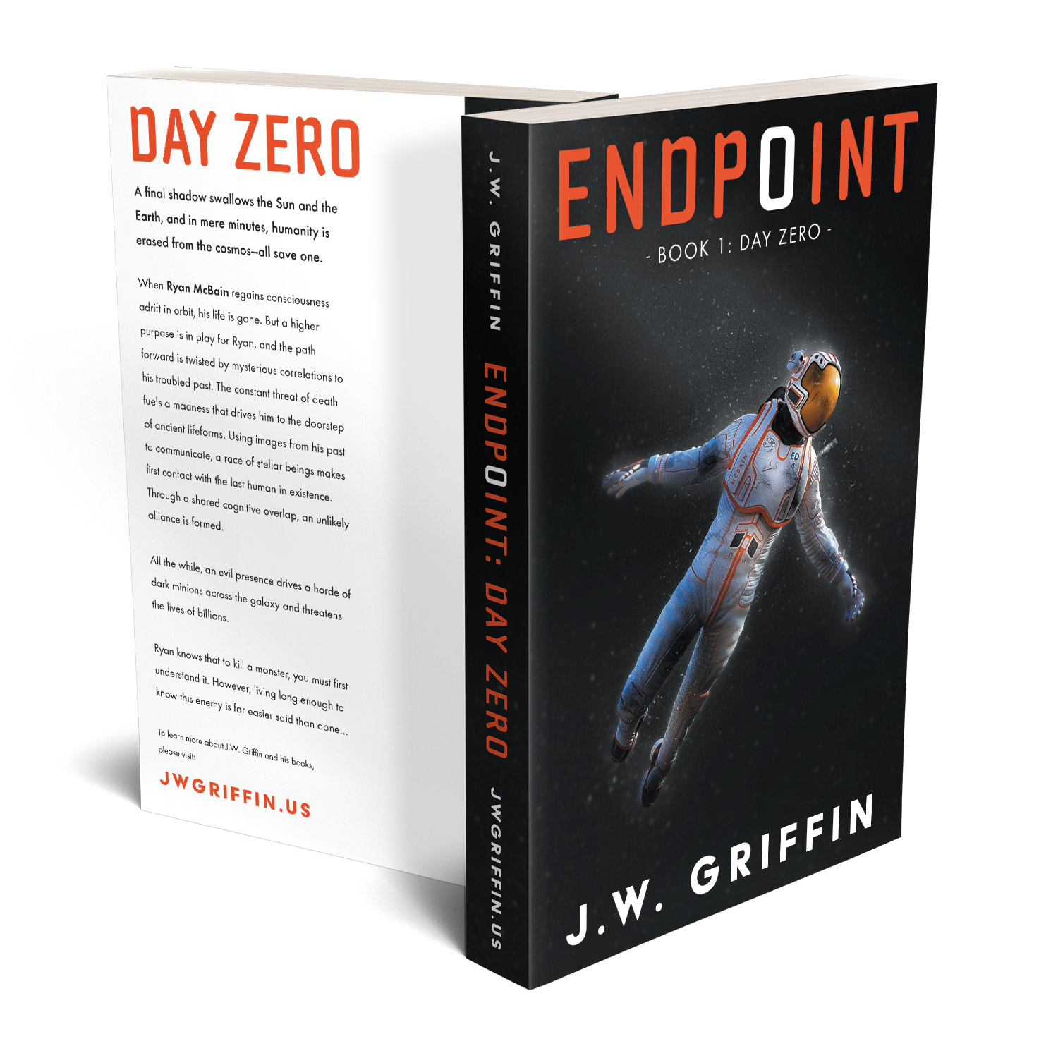 The Endpoint Series is a fantastic character-led hard sci-fi series. The author is JW Griffin. The book cover designs and interior formatting are by Mark Thomas. To learn more about what Mark could do for your book, please visit coverness.com.