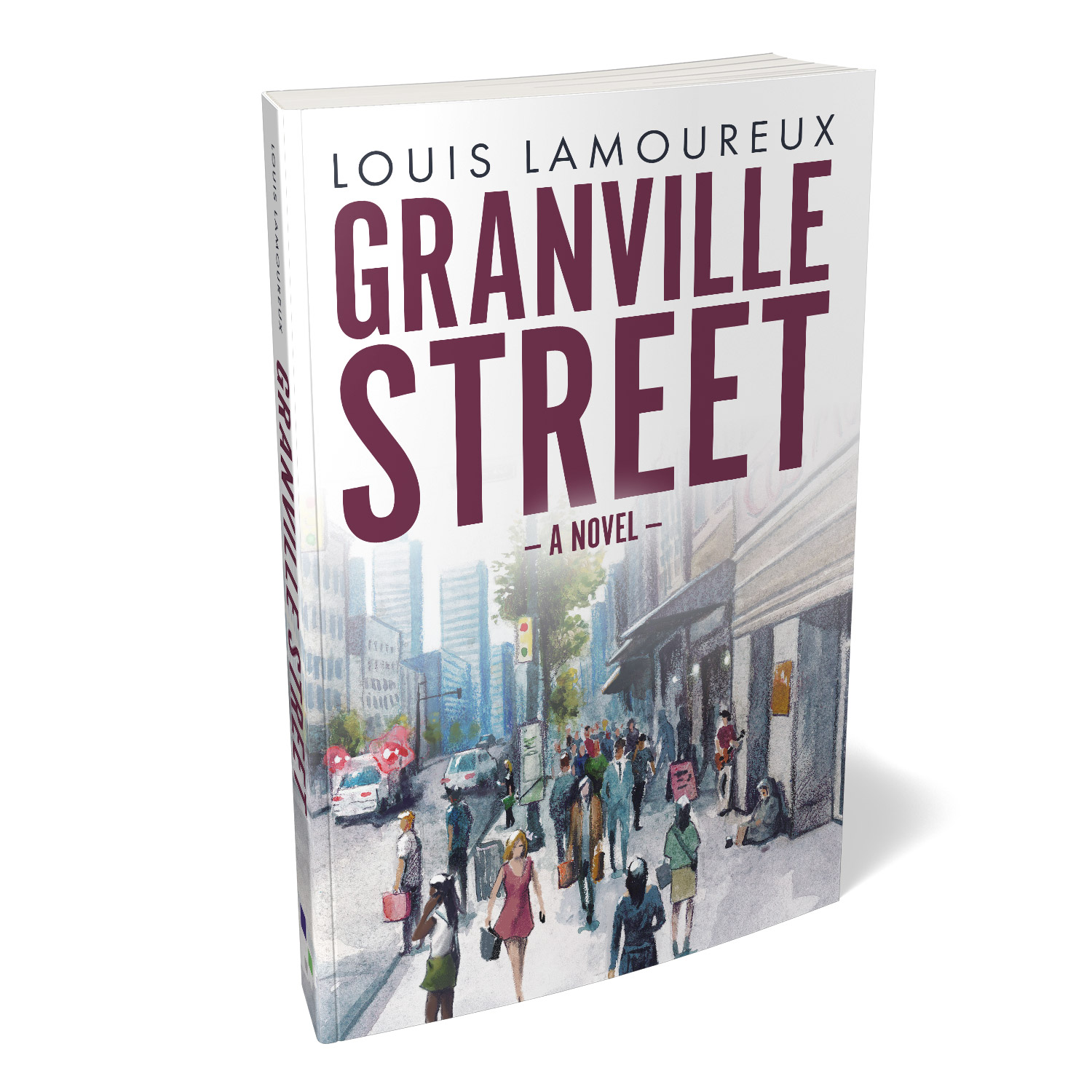 'Granville Street' is a heartbreaking novel of opioid addiction and loss. The author is Louis Lamoureux. The cover design and interior manuscript formatting are by Mark Thomas. Learn what Mark could do for your book by visiting coverness.com.