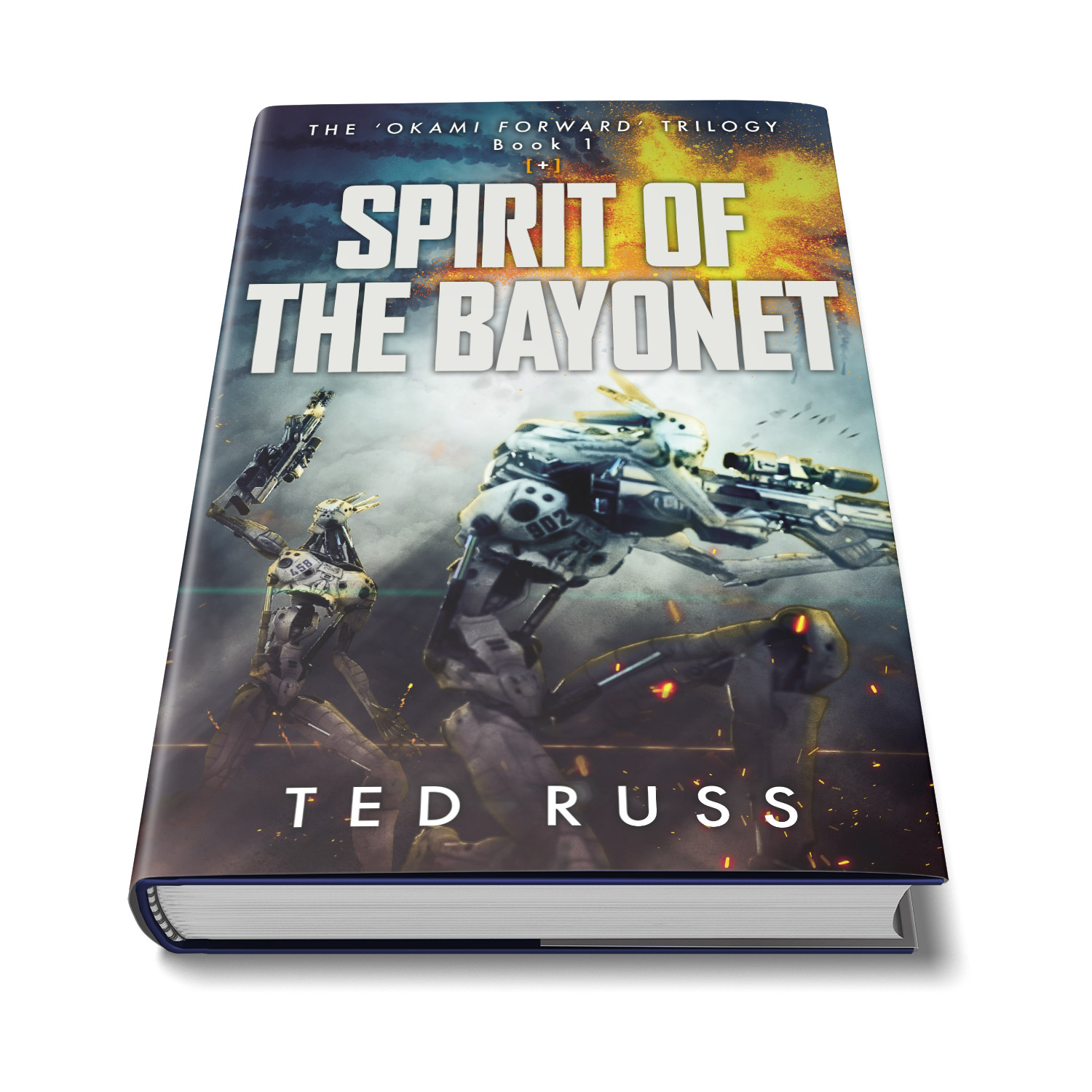 The 'Okami Forward' Trilogy is a spectacular scifi series by author Ted Russ. The cover design and interior manuscript formatting are by Mark Thomas. Learn what Mark could do for your book by visiting coverness.com.