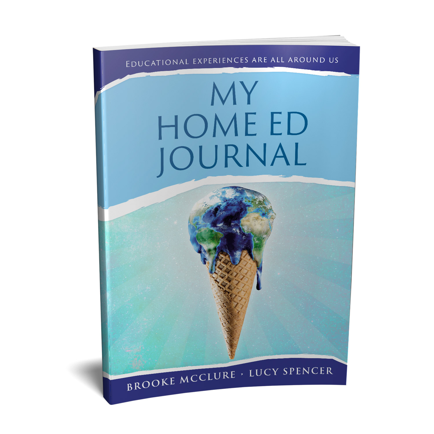 'My Home Ed Journal' is a unique, educational tool that tracks the progress of home-educated children. The authors are Brooke McClure and Lucy Spencer. The book cover and interior design are by Mark Thomas. To learn more about what Mark could do for your book, please visit coverness.com.