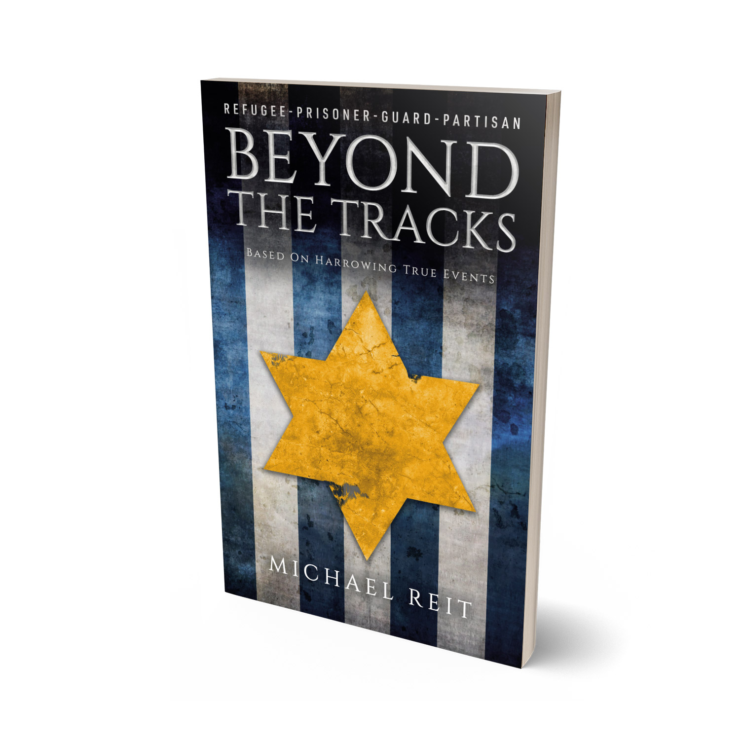 'Beyond The Tracks' is a harrowing tale of survival during WW2. The author is Michael Reit. The book cover design and interior formatting are by Mark Thomas. To learn more about what Mark could do for your book, please visit coverness.com.