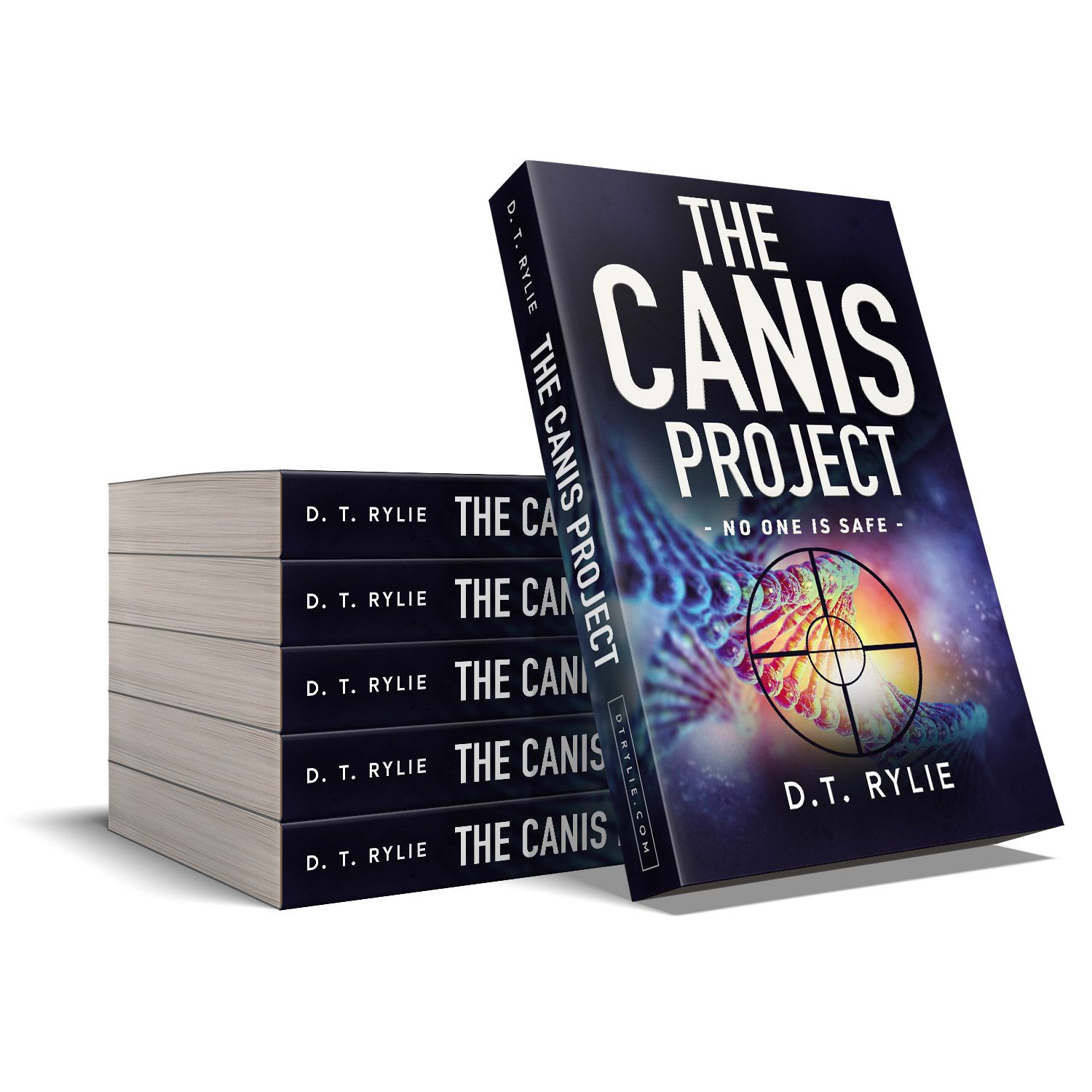 'The Canis Project' is a dark, genetics thriller by D.T. Rylie. The book cover design and interior formatting are by Mark Thomas. To learn more about what Mark could do for your book, please visit coverness.com.