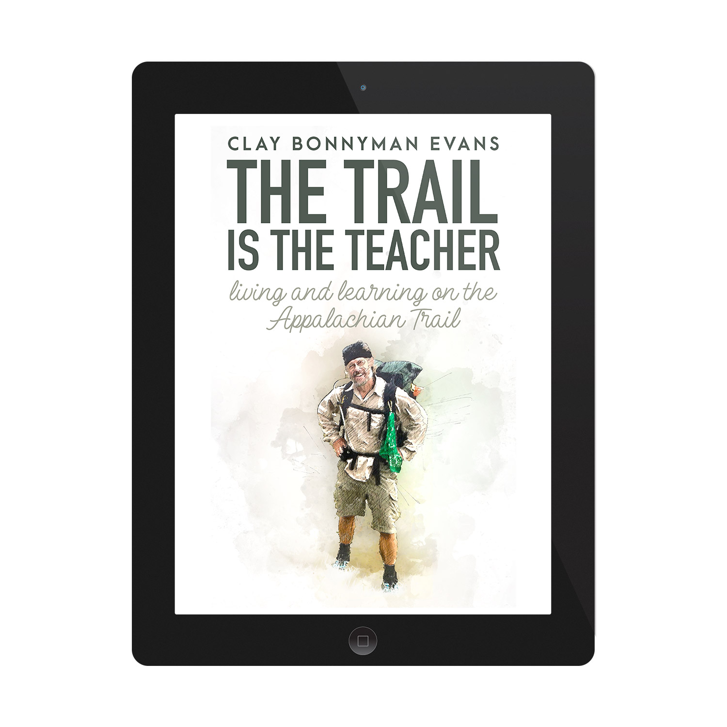 'The Trail Is The Teacher' is a joyous, life-affirming walking memoir, set of the Appalachian Trail. The author is Clay Bonnyman Evans. The book cover design and interior formatting are by Mark Thomas. To learn more about what Mark could do for your book, please visit coverness.com.